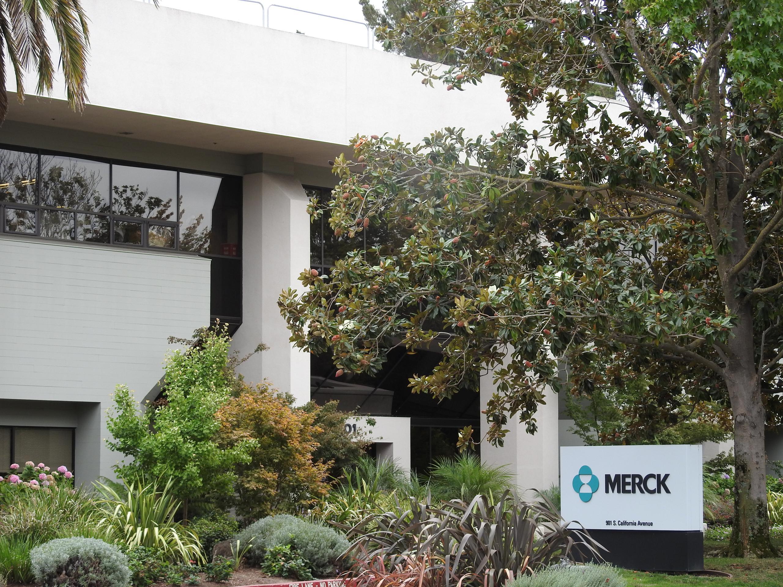 Merck office in Palo Alto, California.