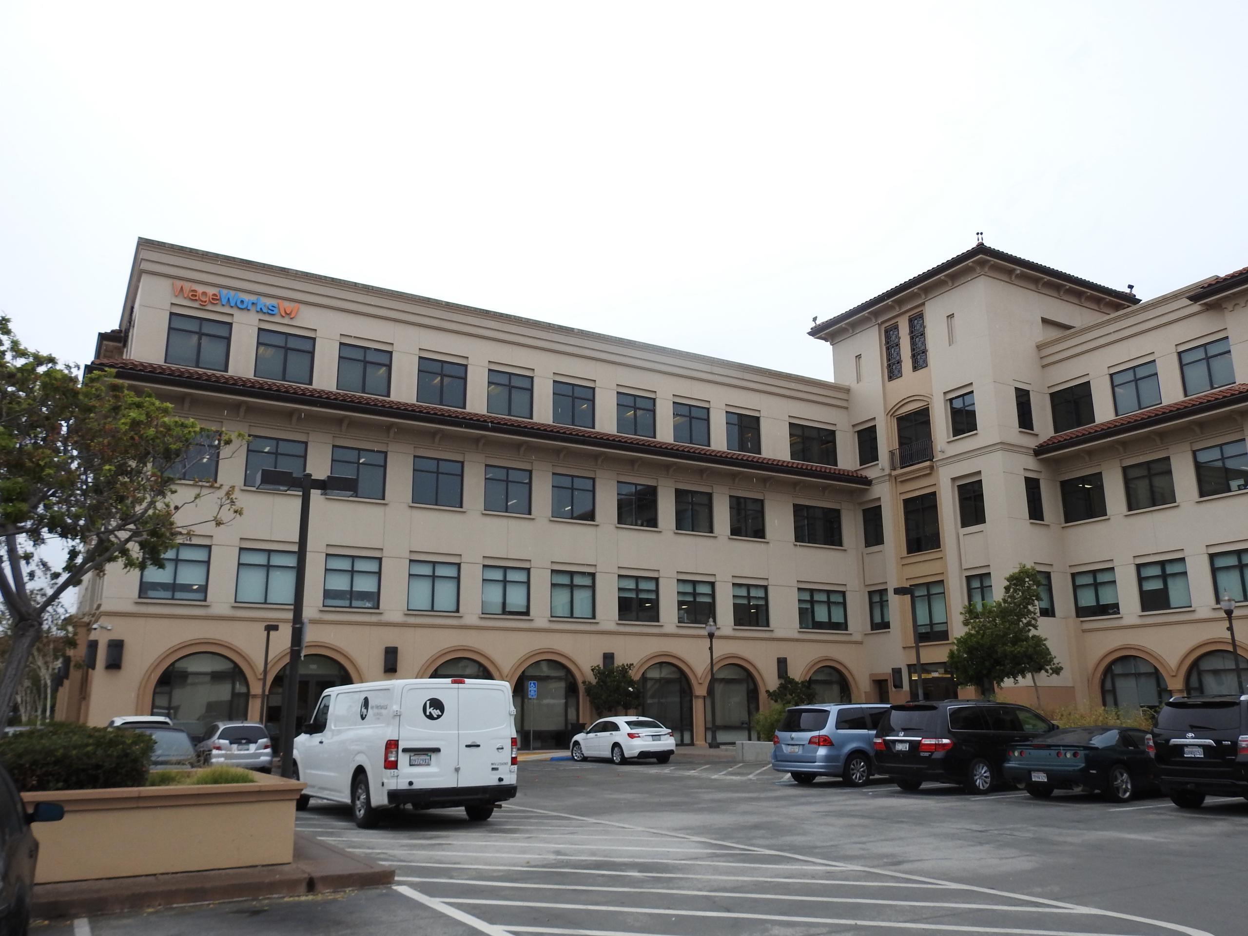 WageWorks' corporate headquarters in San Mateo, California.
