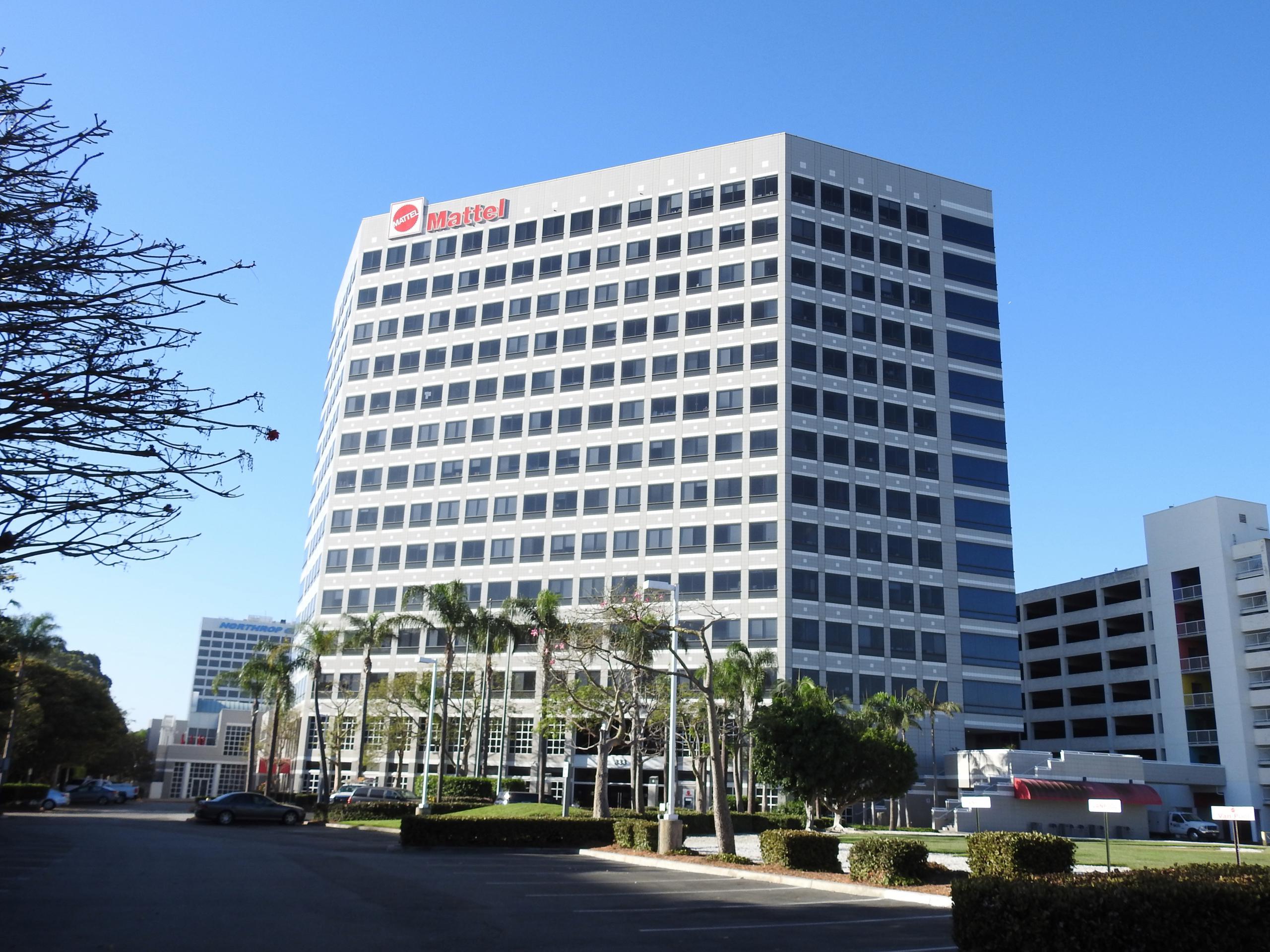 Mattel's corporate headquarters in El Segundo, California.