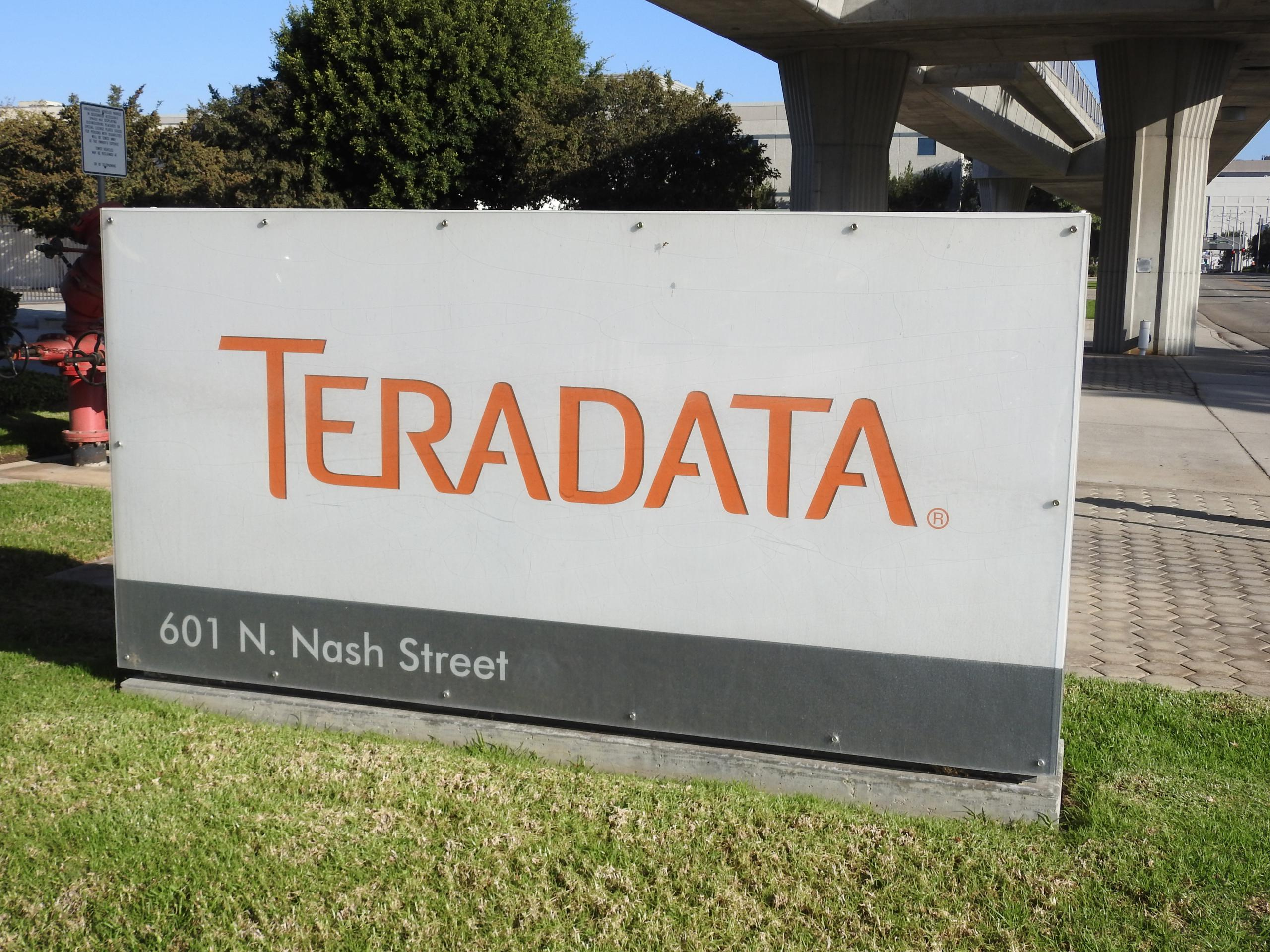 Entrance to a Teradata office in El Segundo, California.