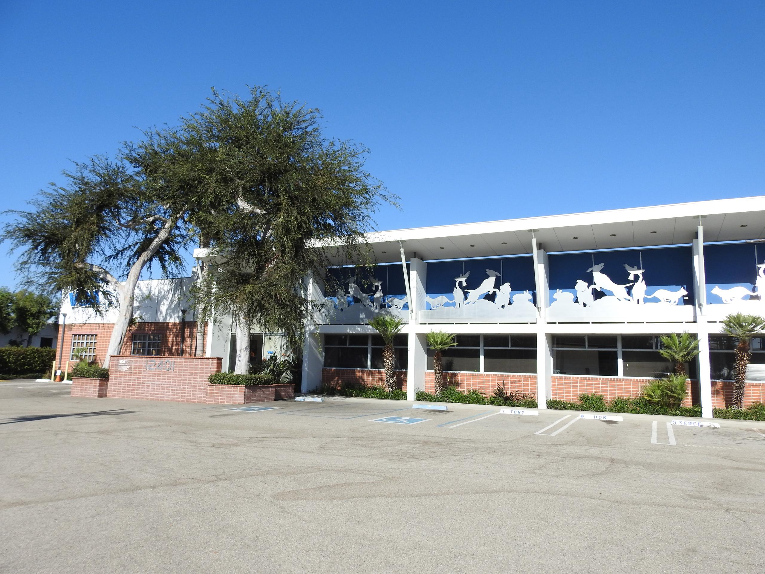 VCA's corporate headquarters in Los Angeles, California.