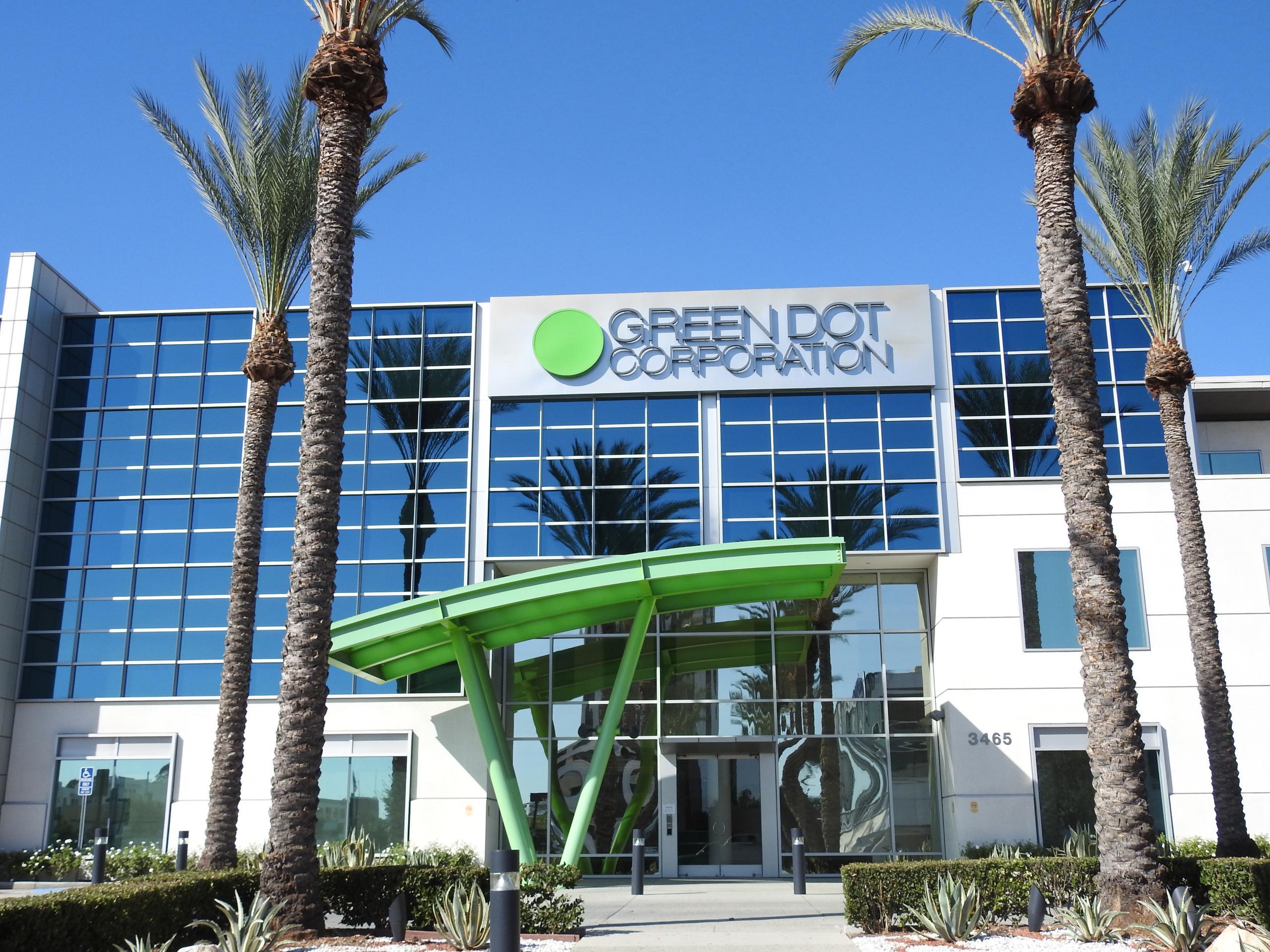 Green Dot's corporate headquarters in Pasadena, California.