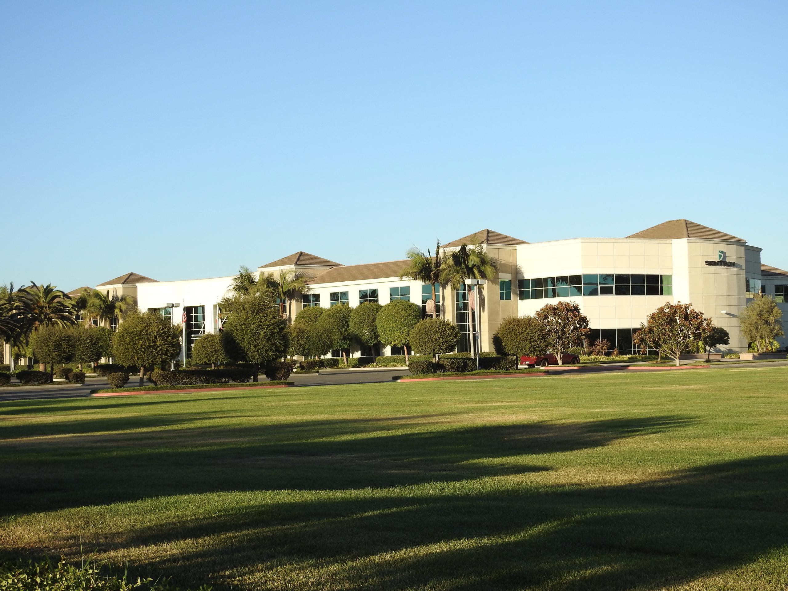 Semtech's corporate headquarters in Camarillo, California.