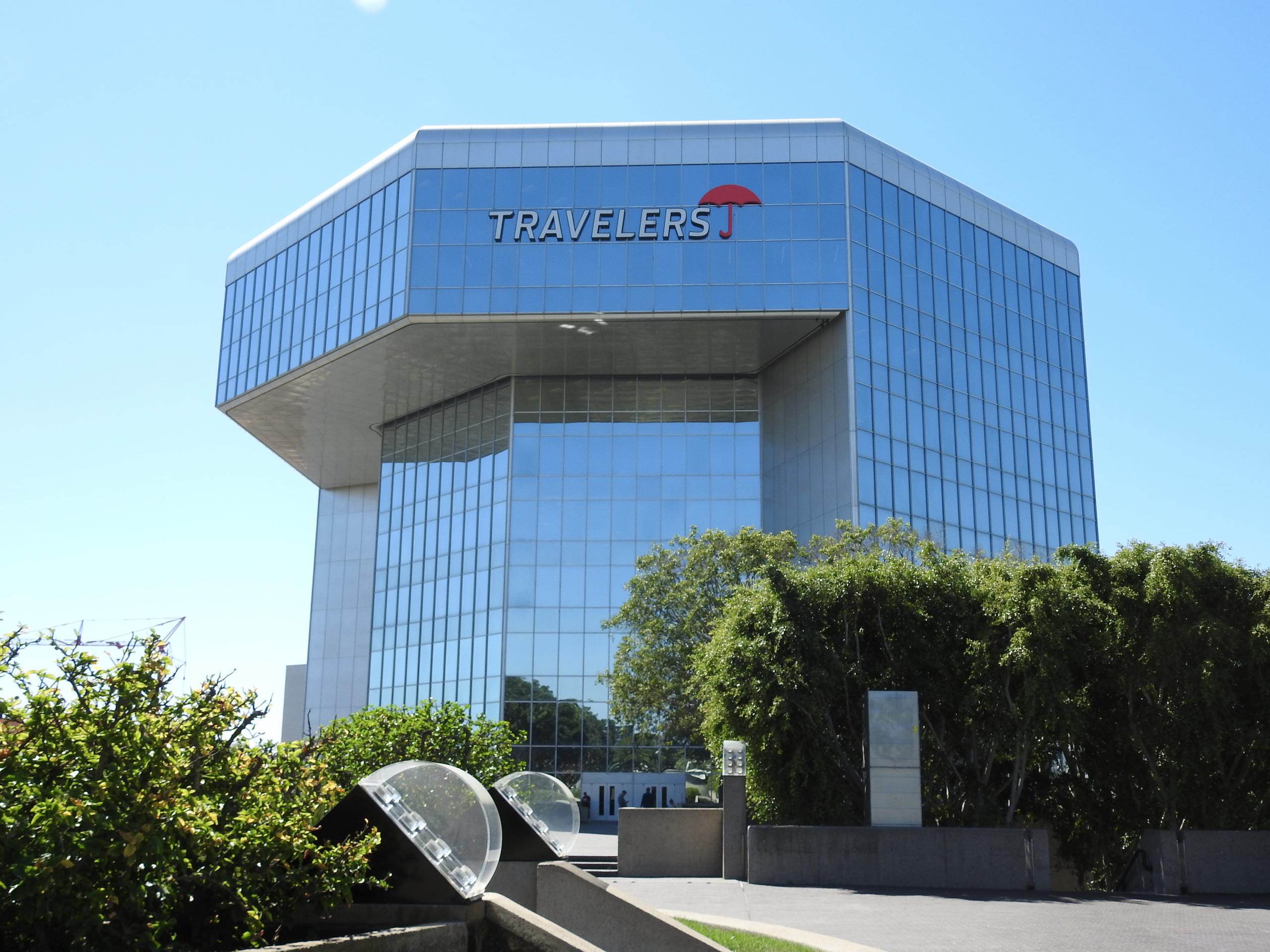 Travelers office in Irvine, California.