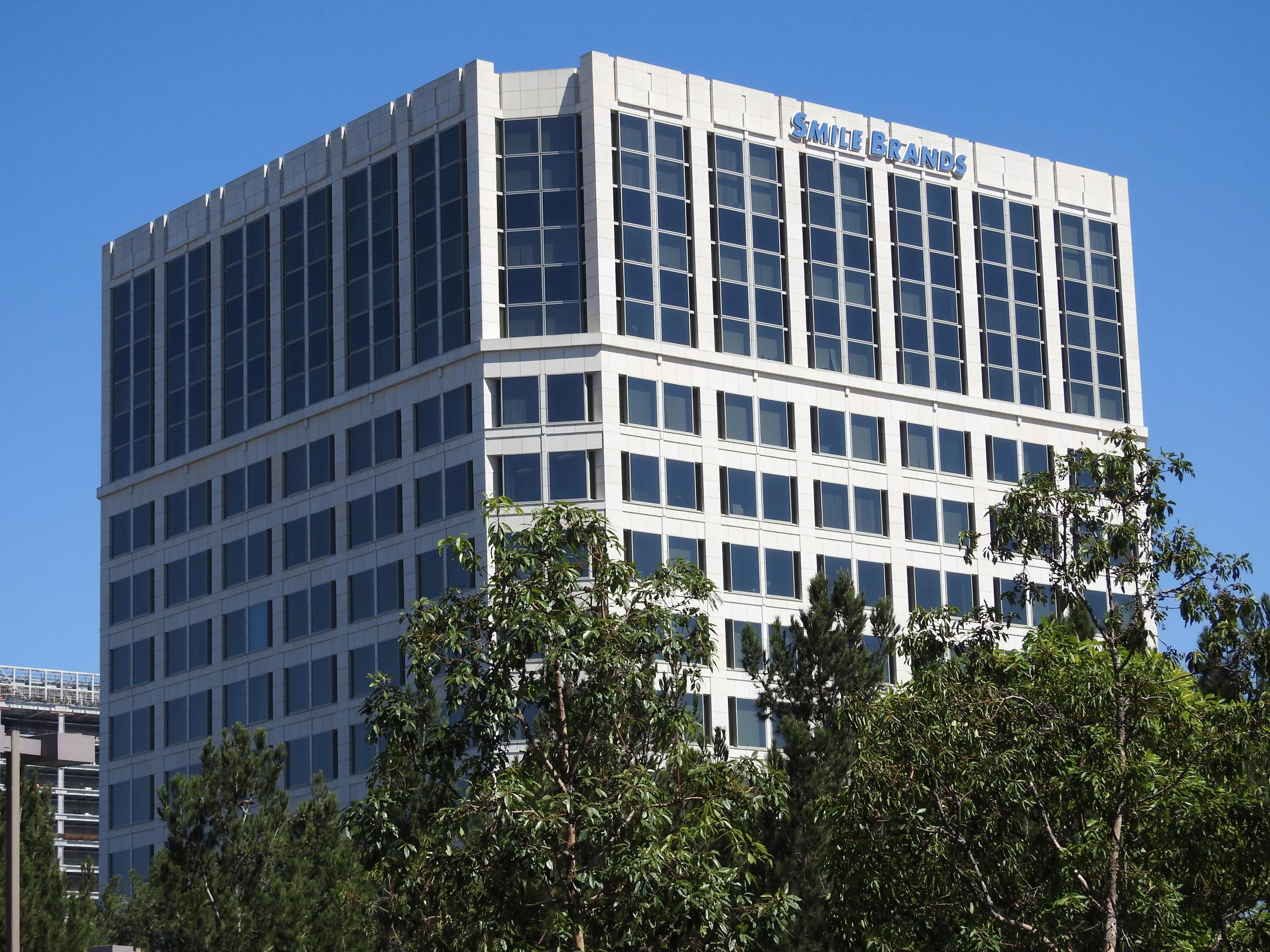 Smile Brands' corporate headquarters in Irvine, California.