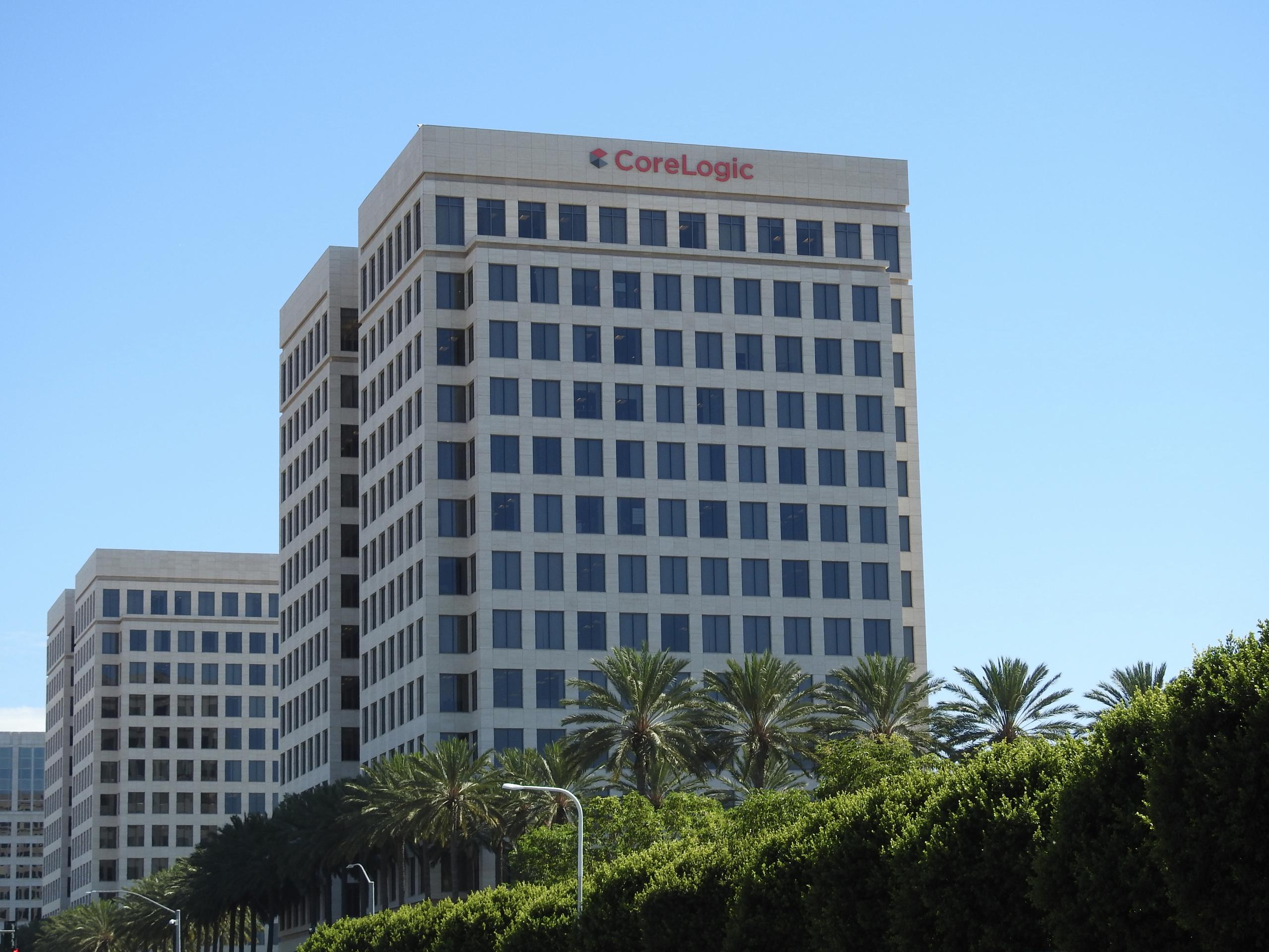 CoreLogic's corporate headquarters in Irvine, California.