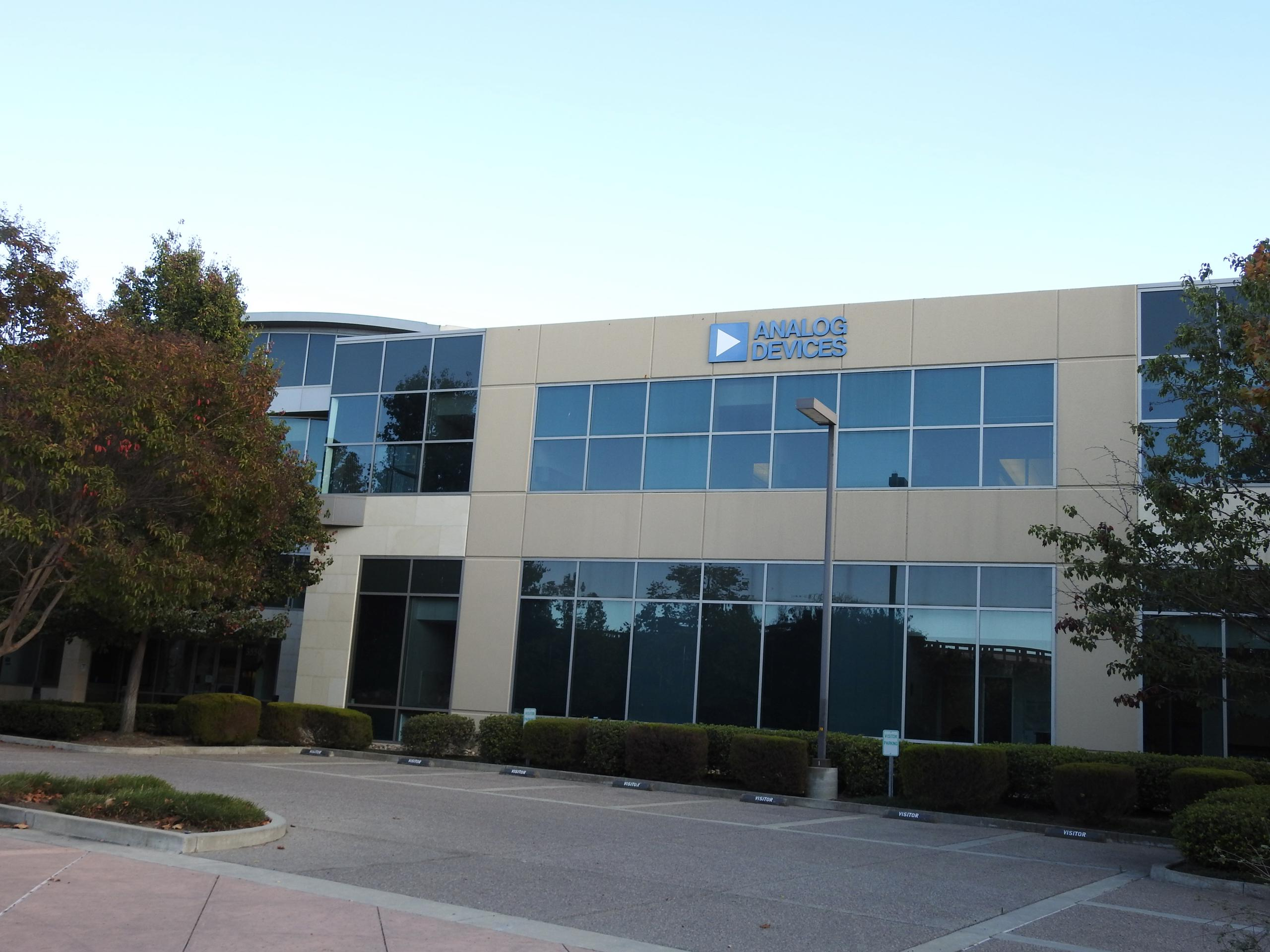 Analog Devices' office in San Jose, California.