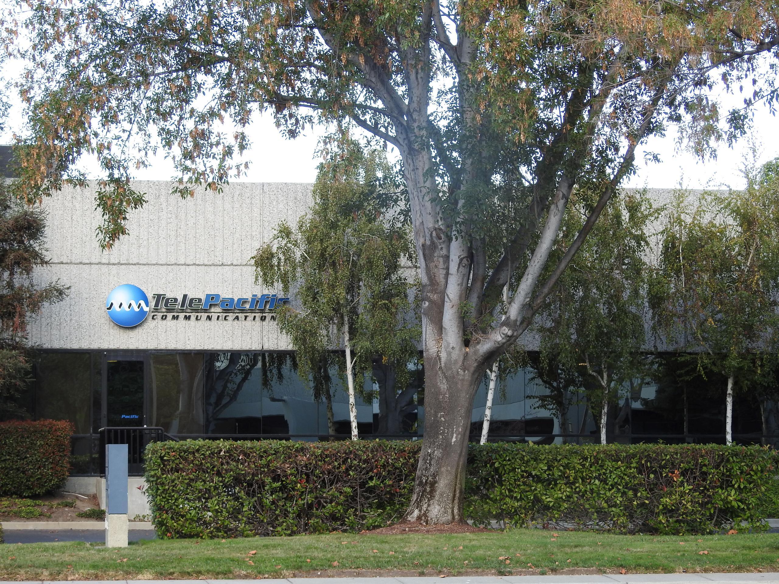 TelePacific's office in San Jose, California.