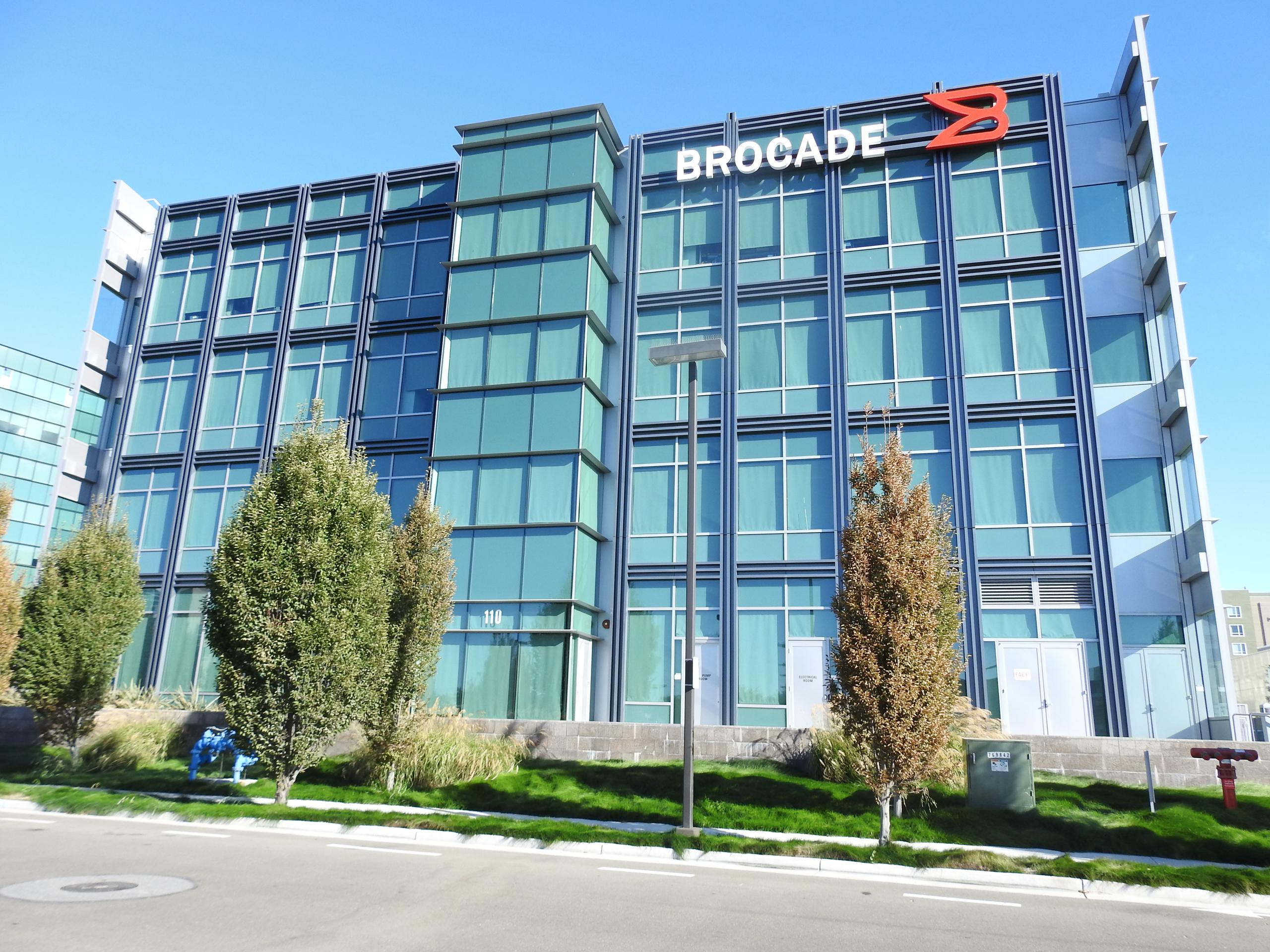 Brocade's corporate headquarters in San Jose, California.