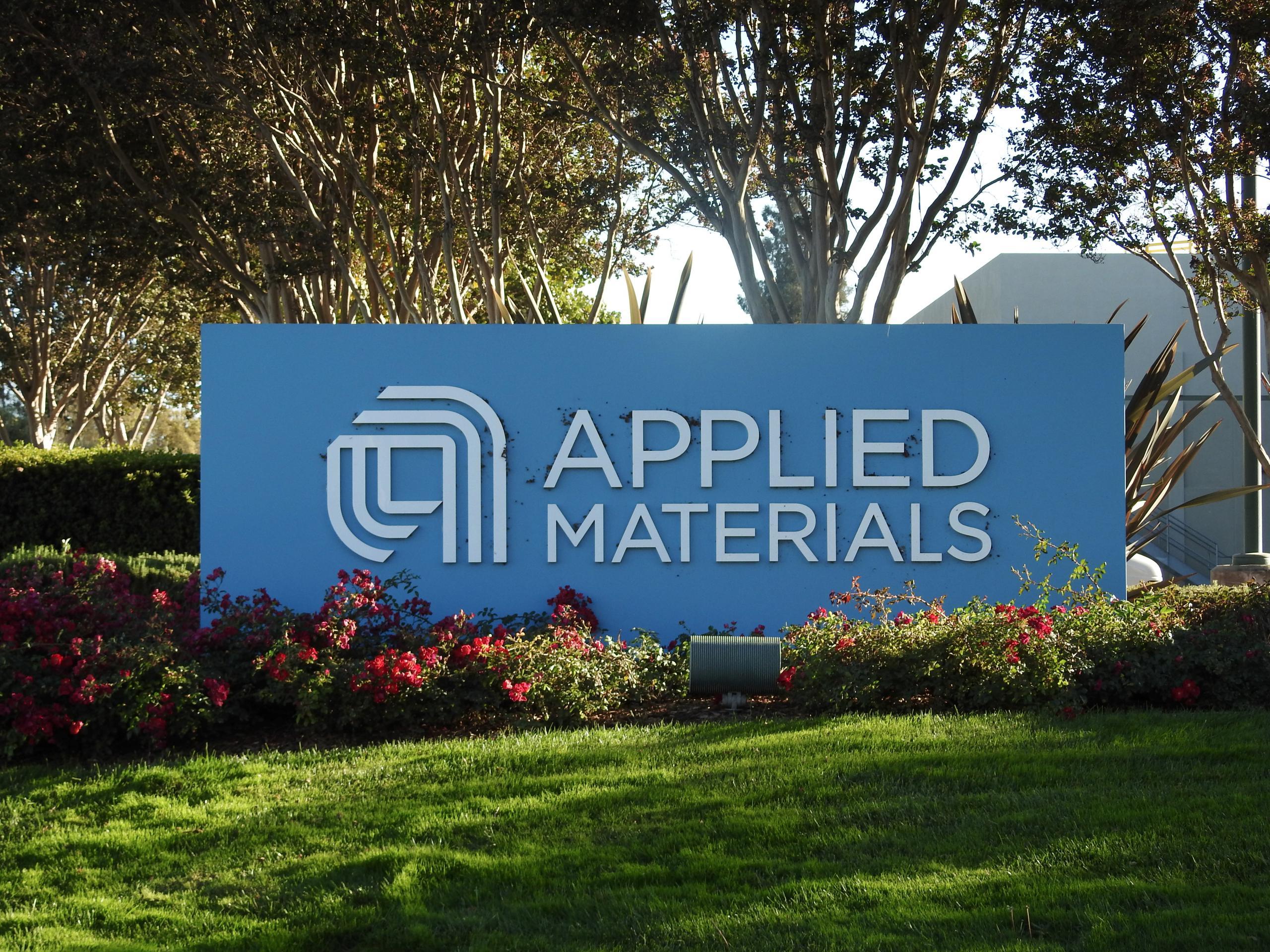 Applied Materials' corporate headquarters in Santa Clara, California.