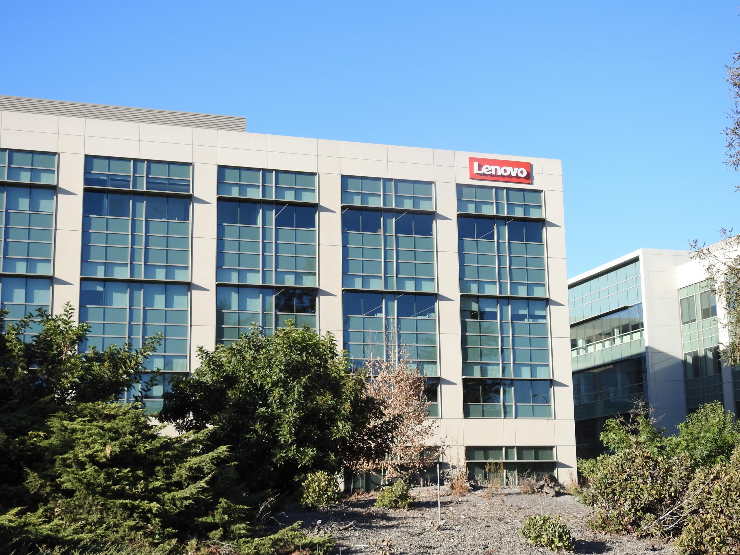 Lenovo Group's office in Santa Clara, California.