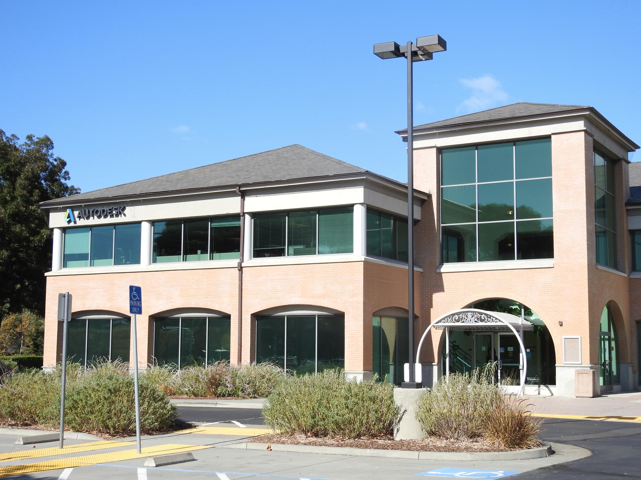 Autodesk's corporate headquarters in Mill Valley, California.