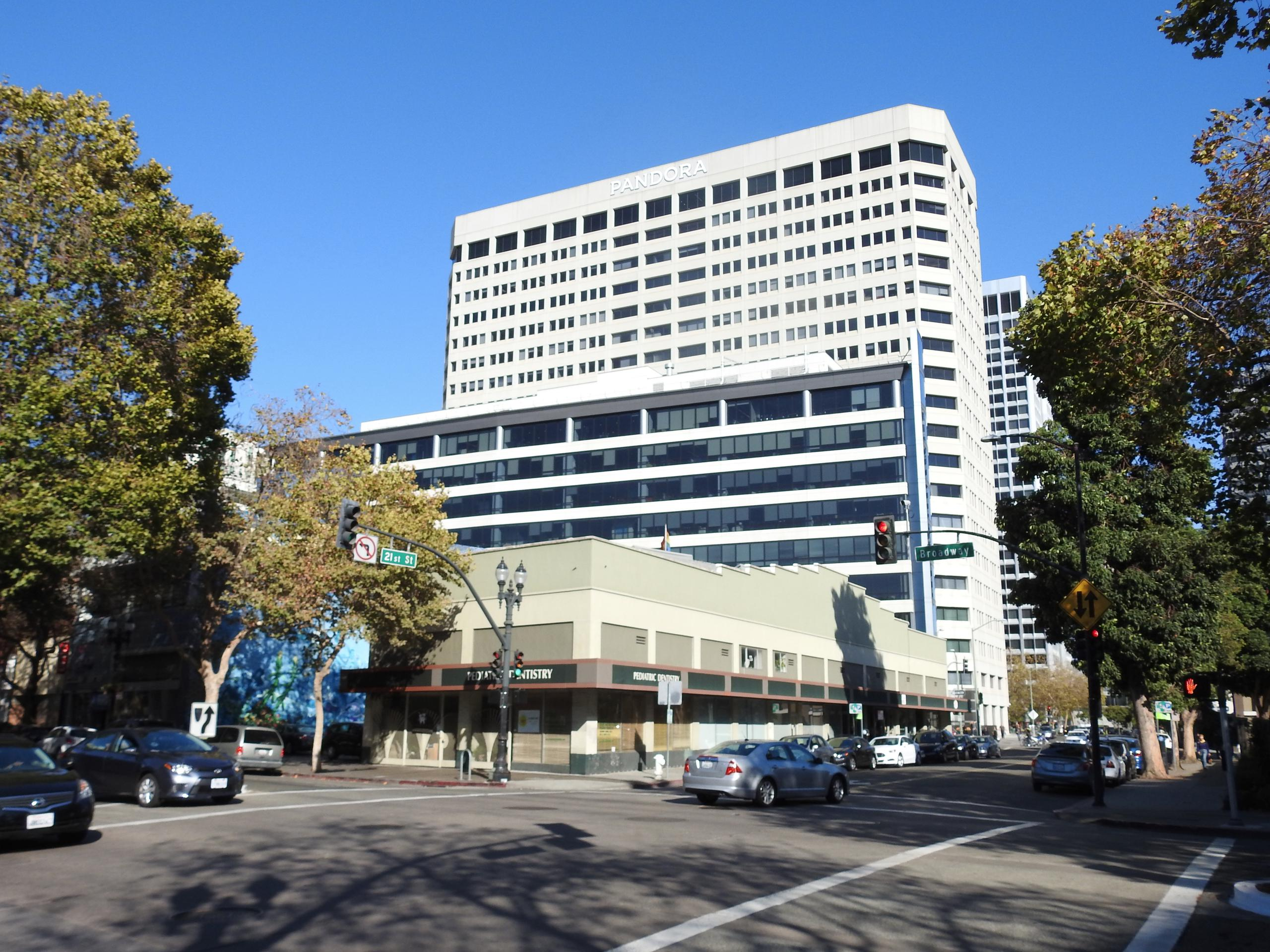 Pandora's headquarters in downtown Oakland, California.
