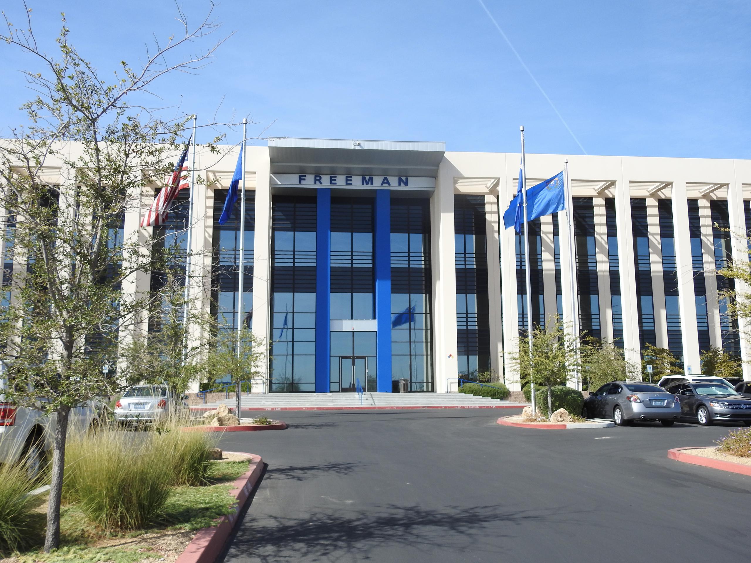 Freeman office in Las Vegas, Nevada.
