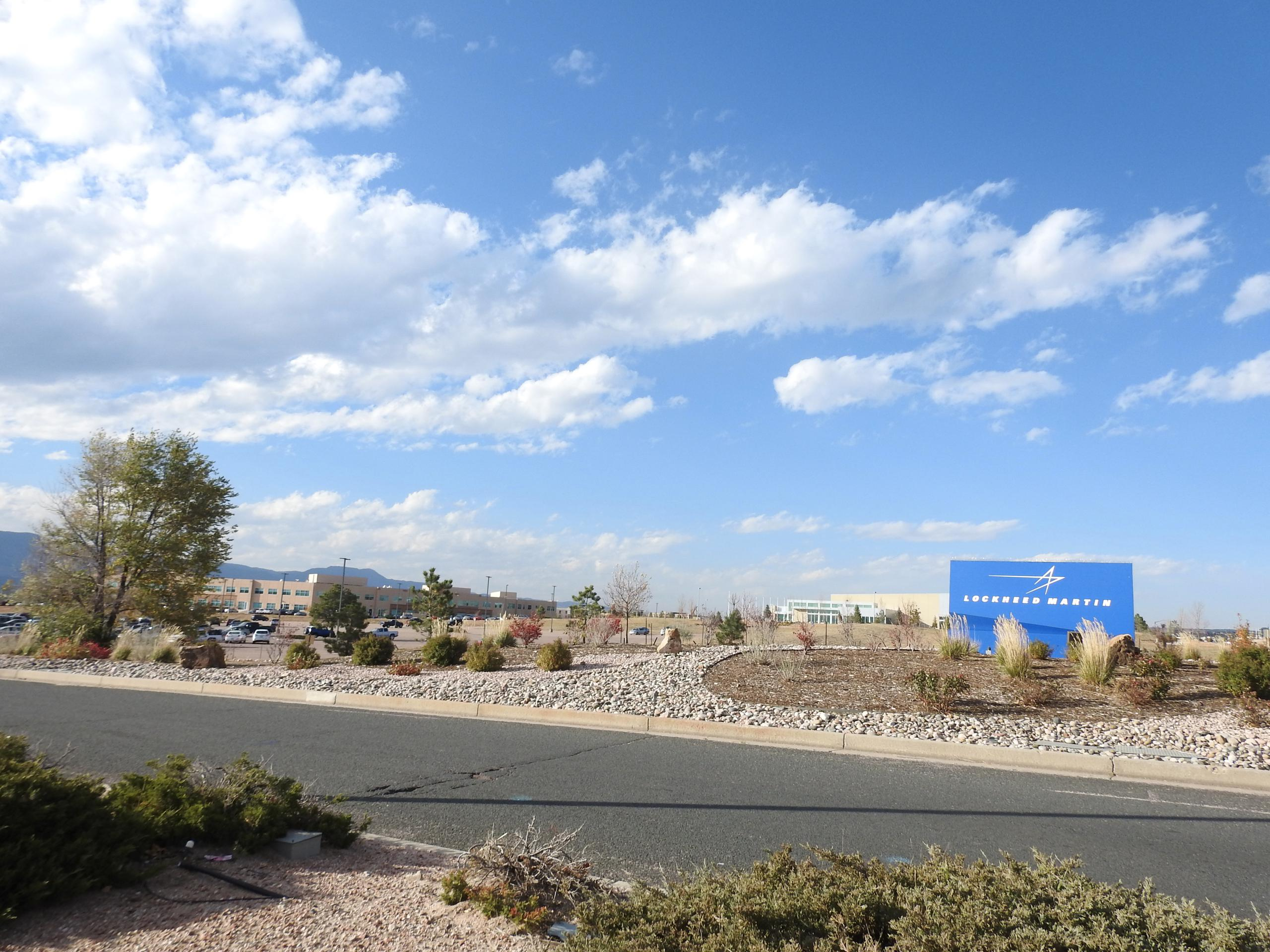 Lockheed Martin campus in Colorado Springs, Colorado.