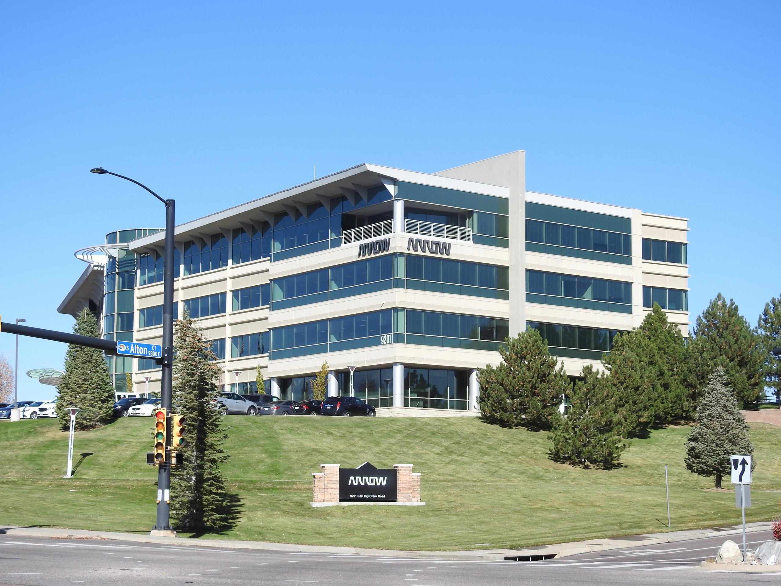 Arrow Electronics' corporate headquarters in Centennial, Colorado.