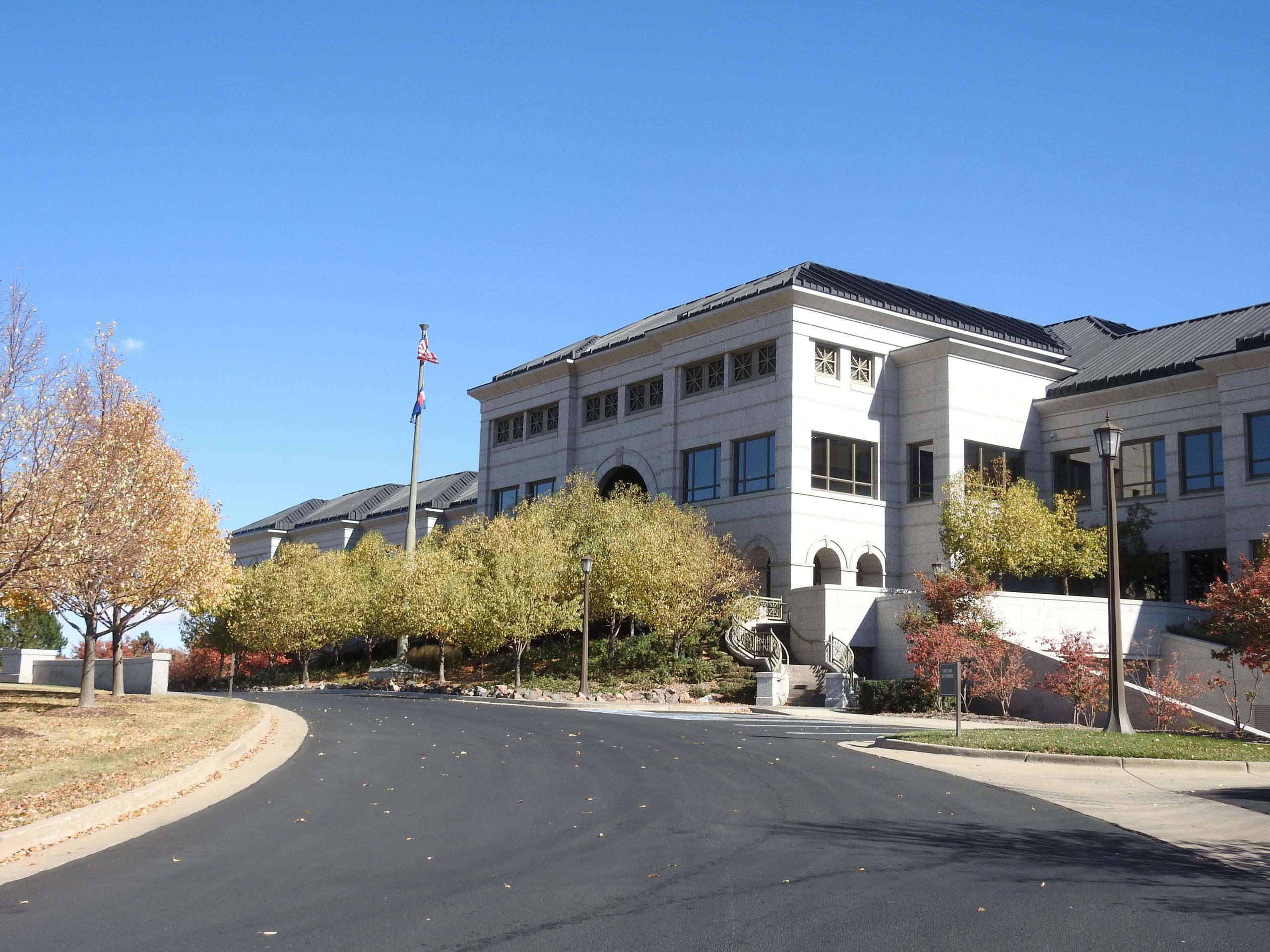Liberty Media's corporate headquarters in Englewood, Colorado.