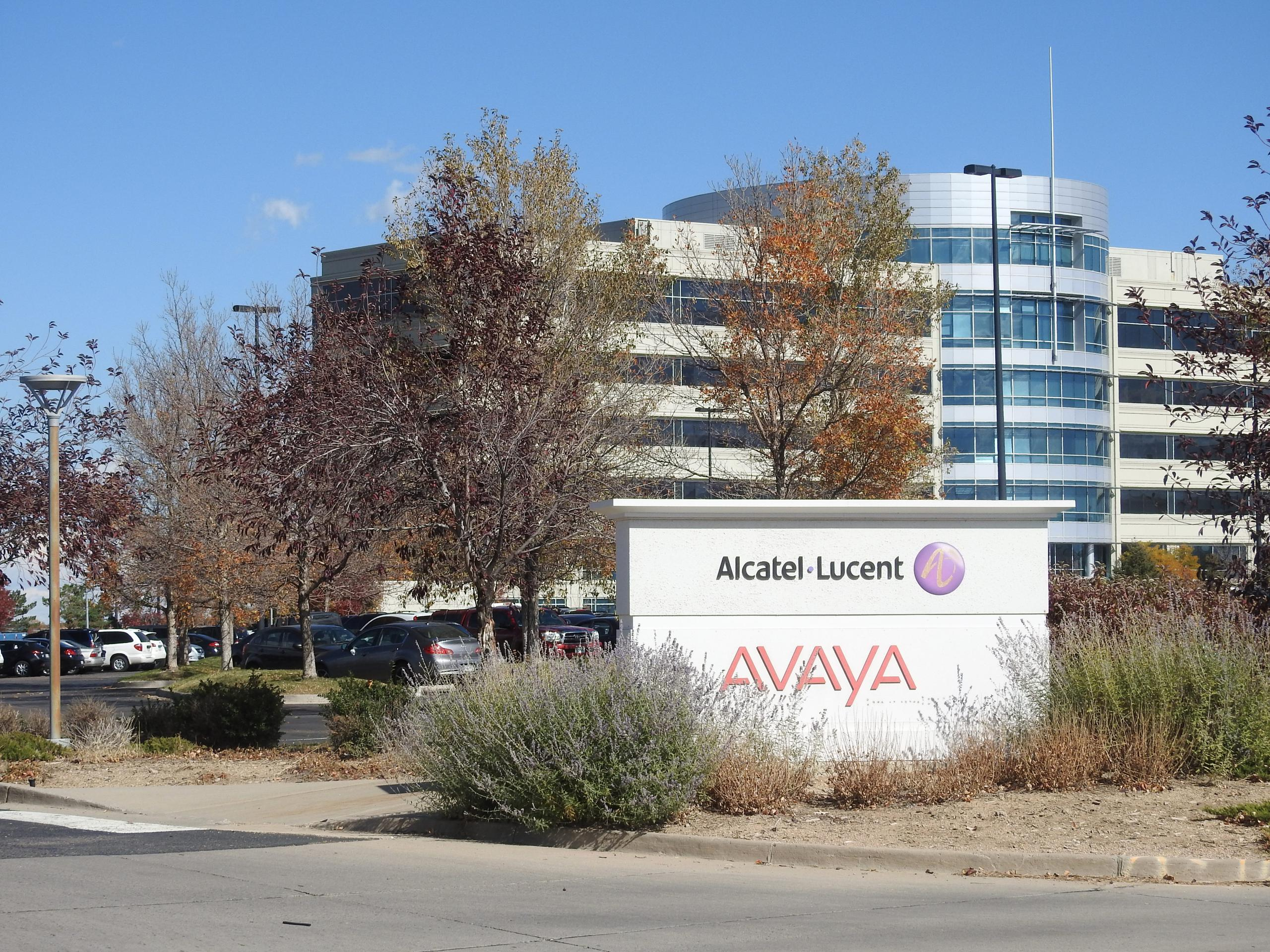Alcatel-Lucent office in Highlands Ranch, Colorado.