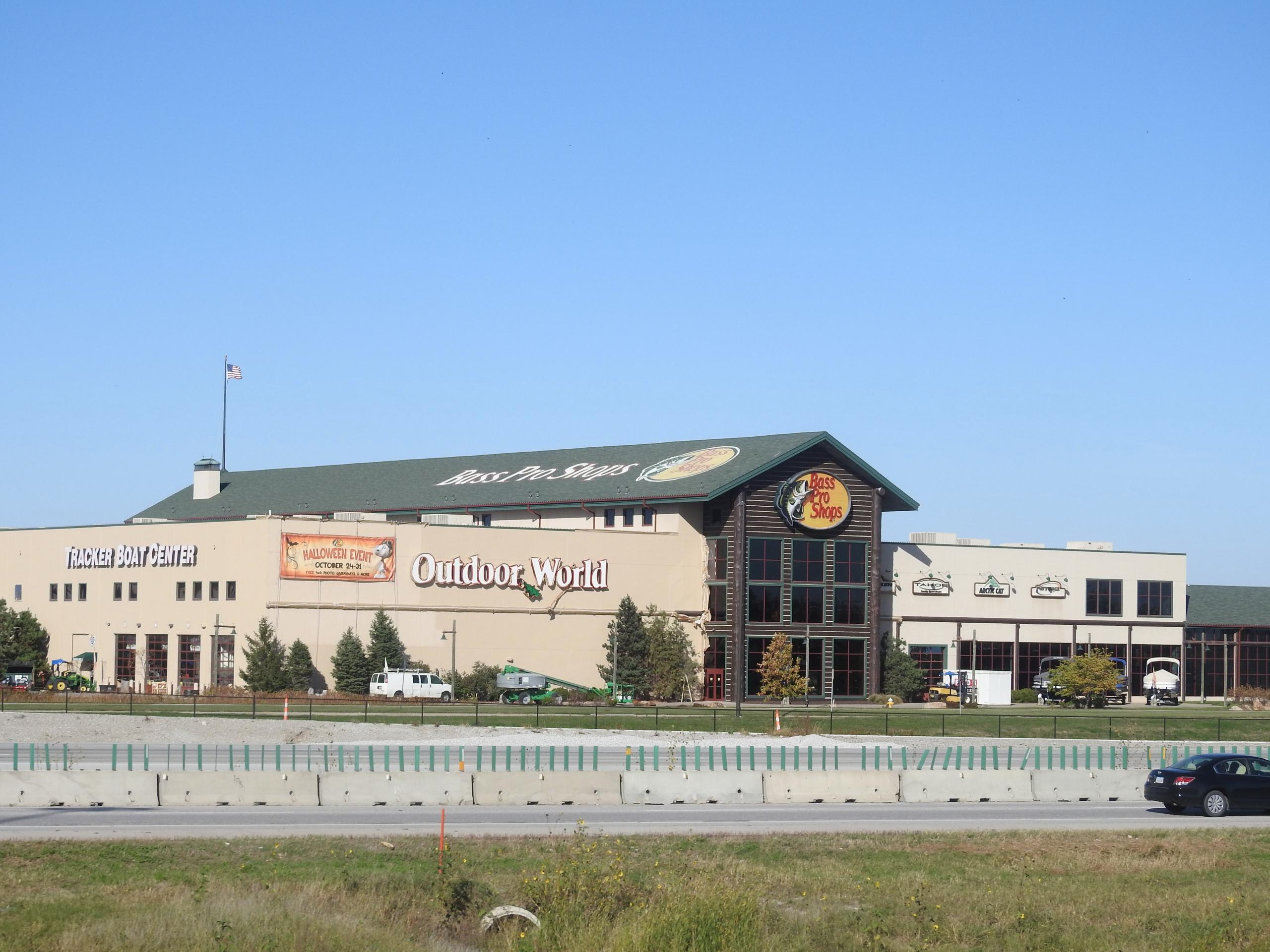 Bass Pro store in Council Bluffs, Iowa.