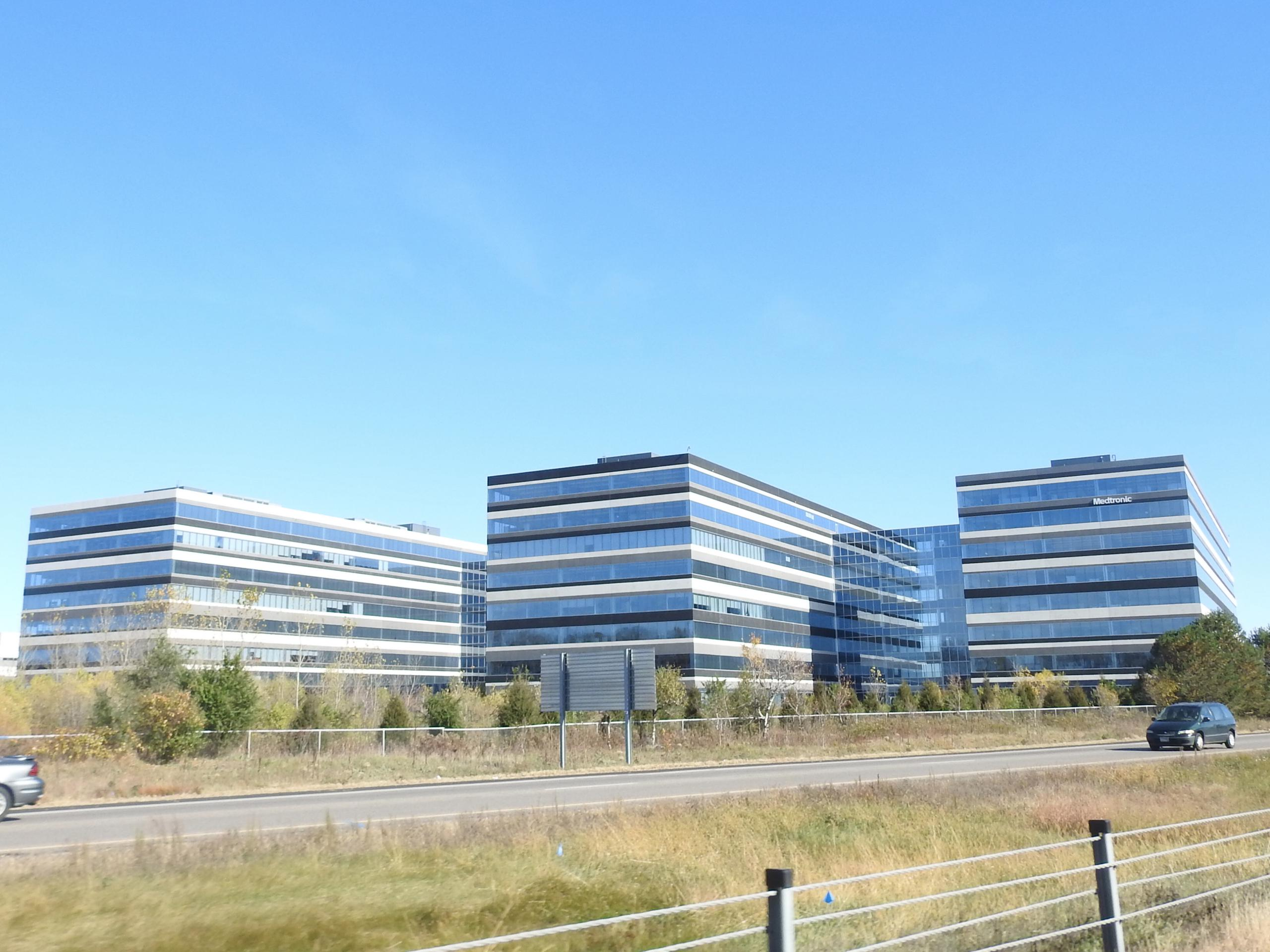 Medtronic campus in Mounds View, Minnesota.