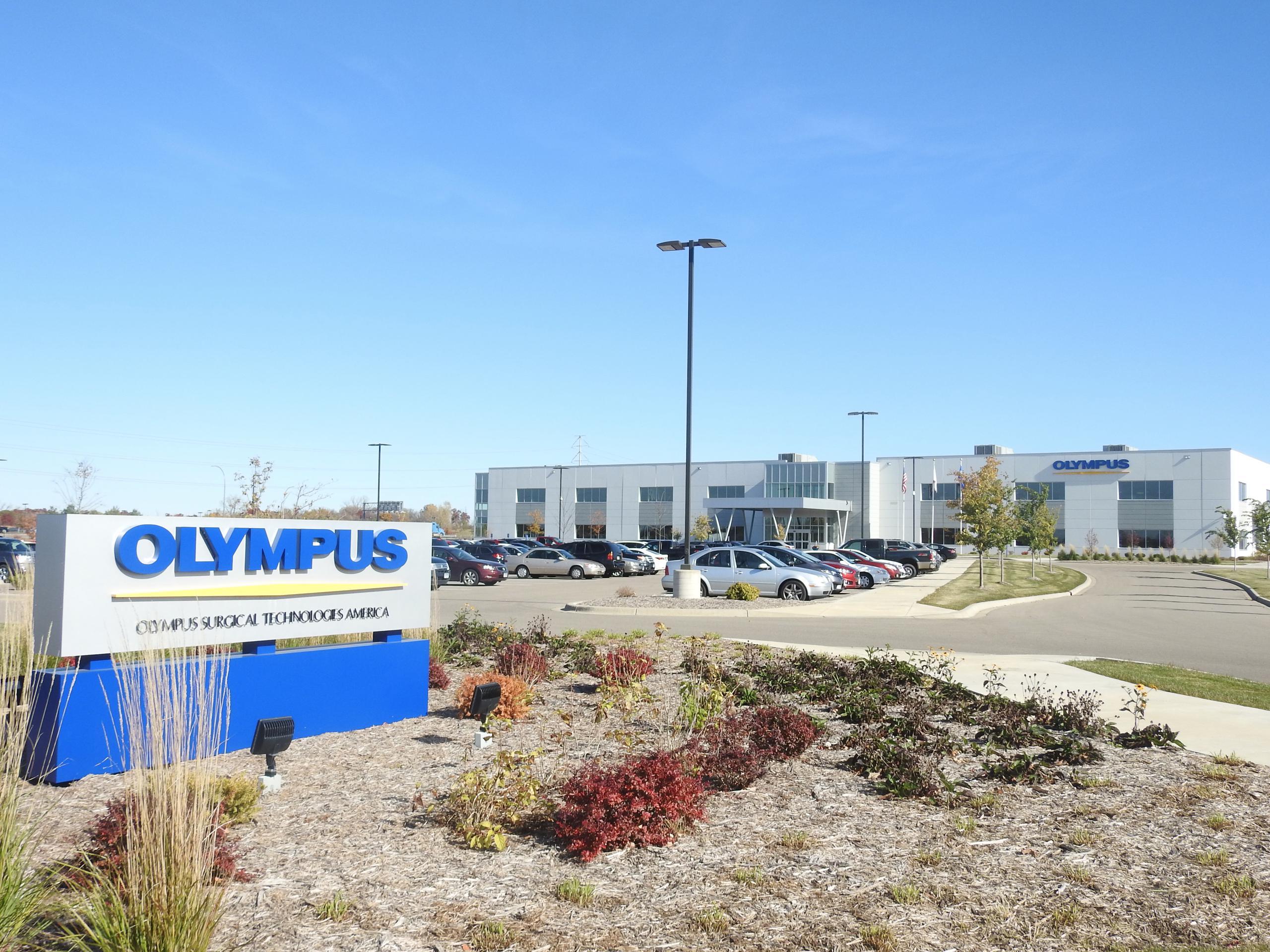 Olympus facility in Brooklyn Park, Minnesota.