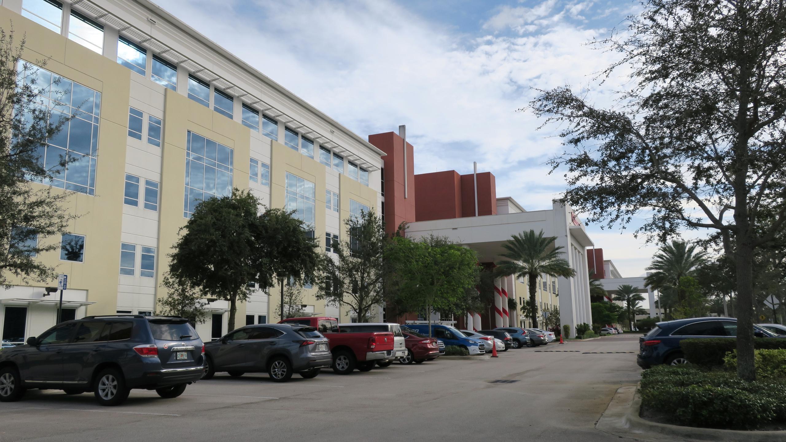 Office Depot's corporate headquarters in Boca Raton, Florida.