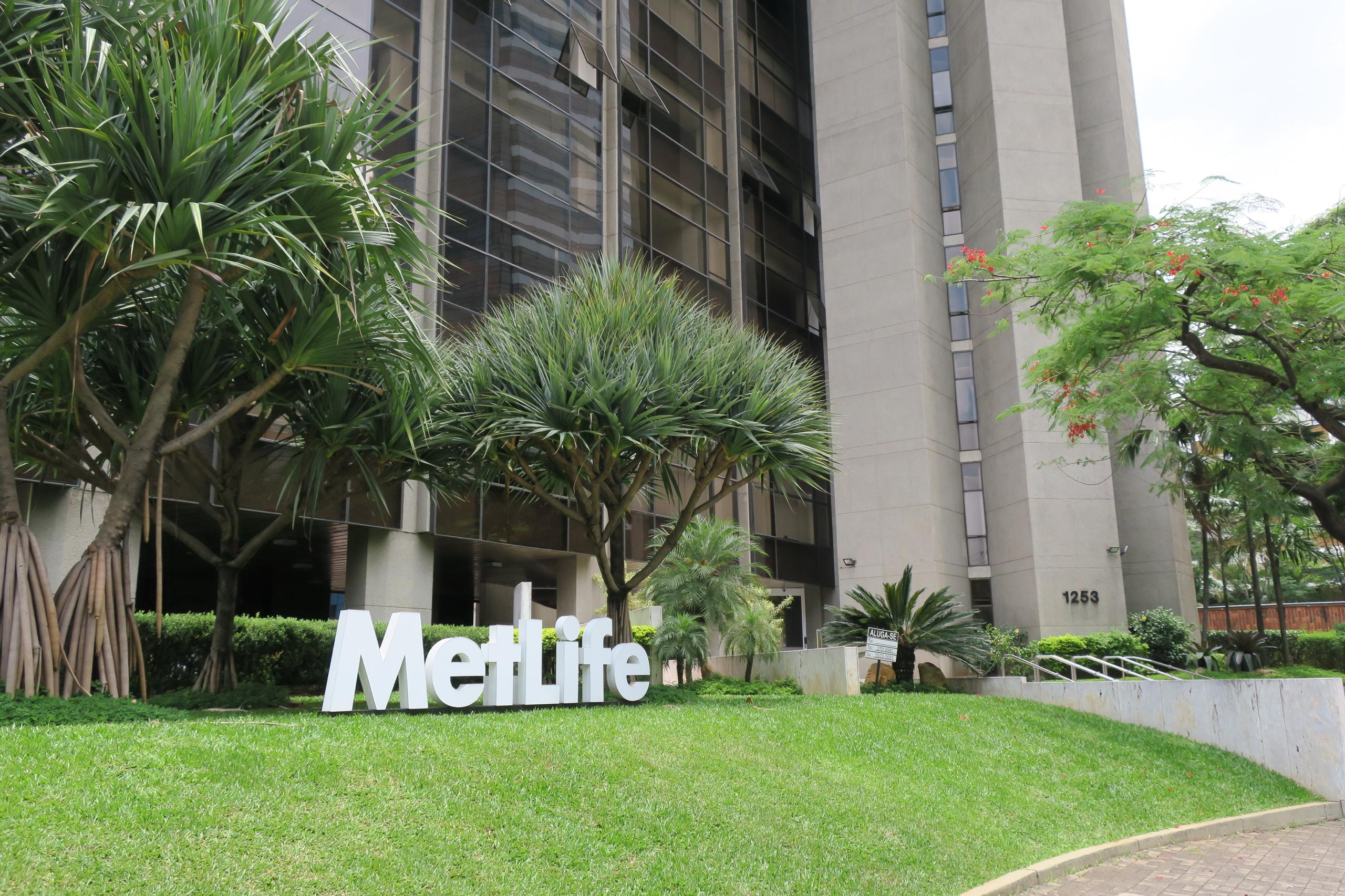MetLife office in Sao Paulo, Brazil.