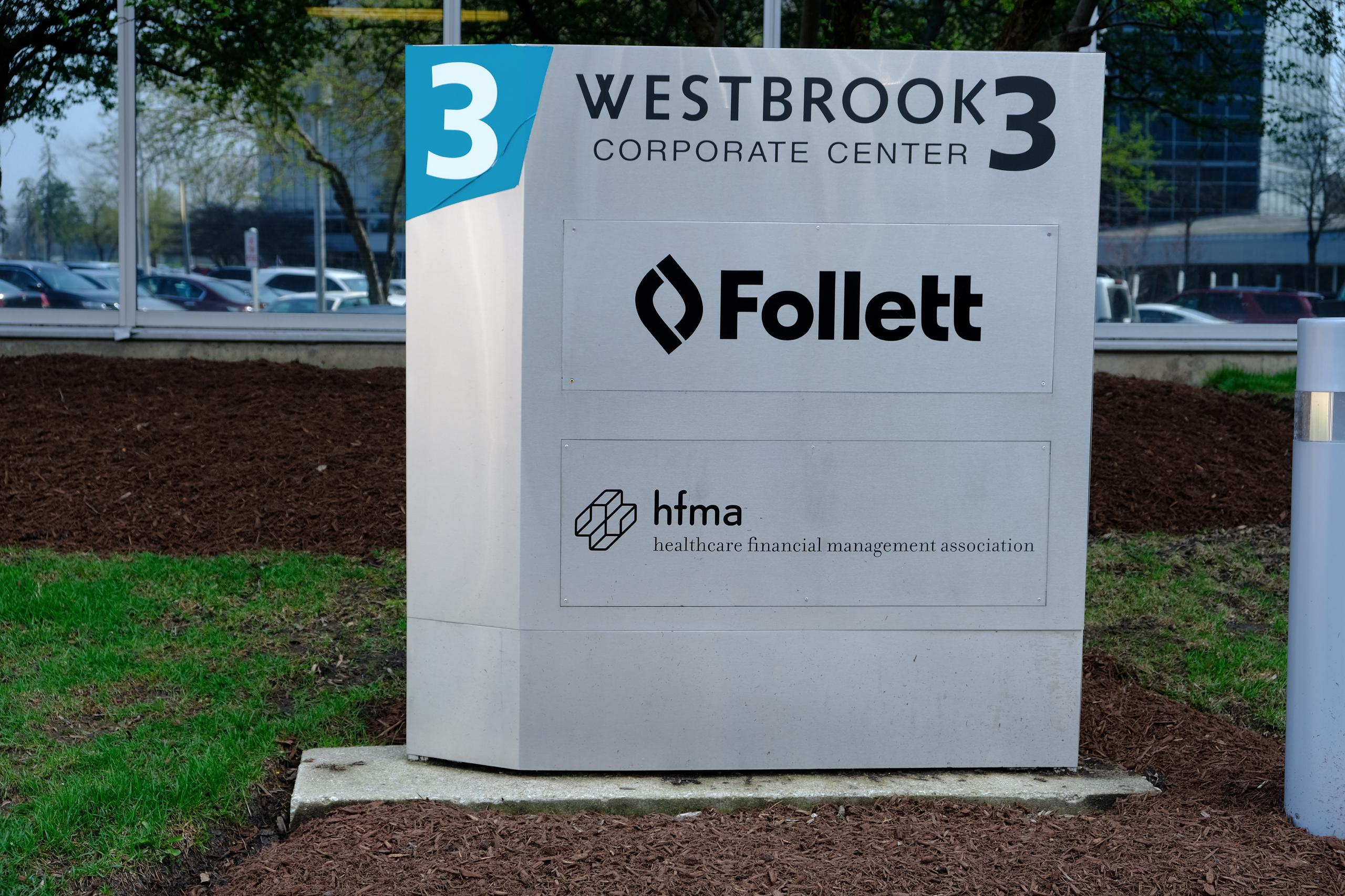 Follett's corporate headquarters in Westchester, Illinois.