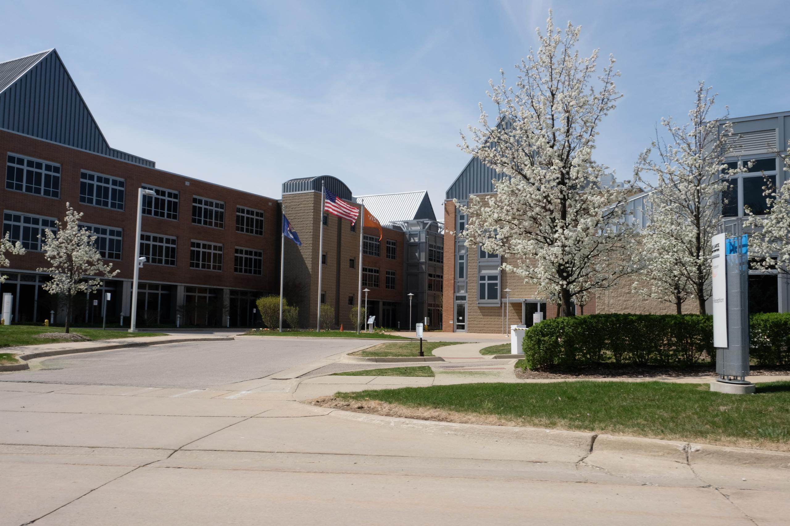 Visteon's campus in Van Buren Township, Michigan.