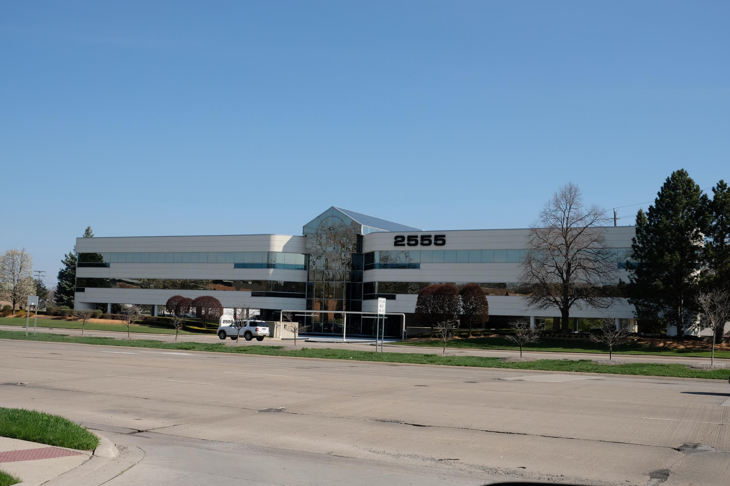 Penske Automotive Group's headquarters in Bloomfield Hills, Michigan.