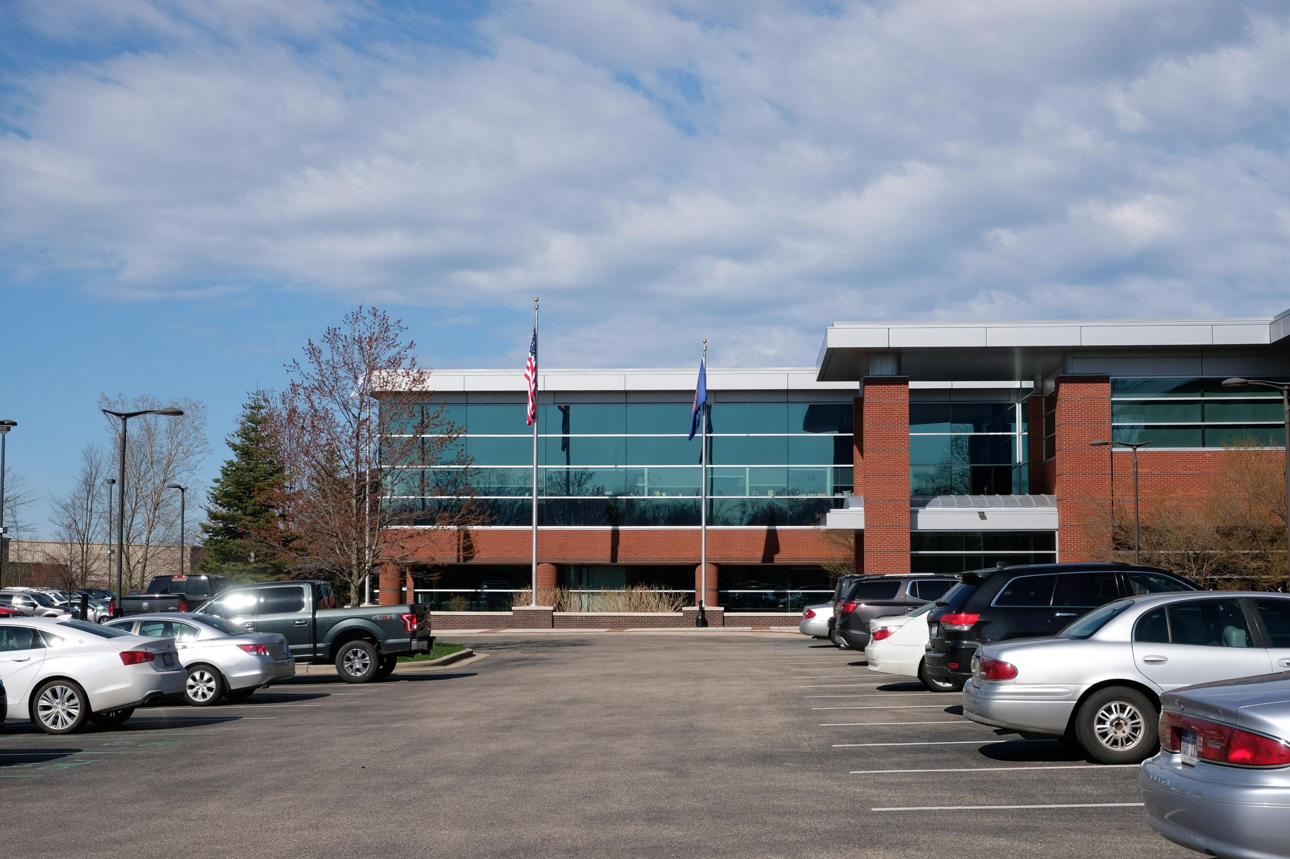 Gentex's corporate headquarters in Zeeland, Michigan.