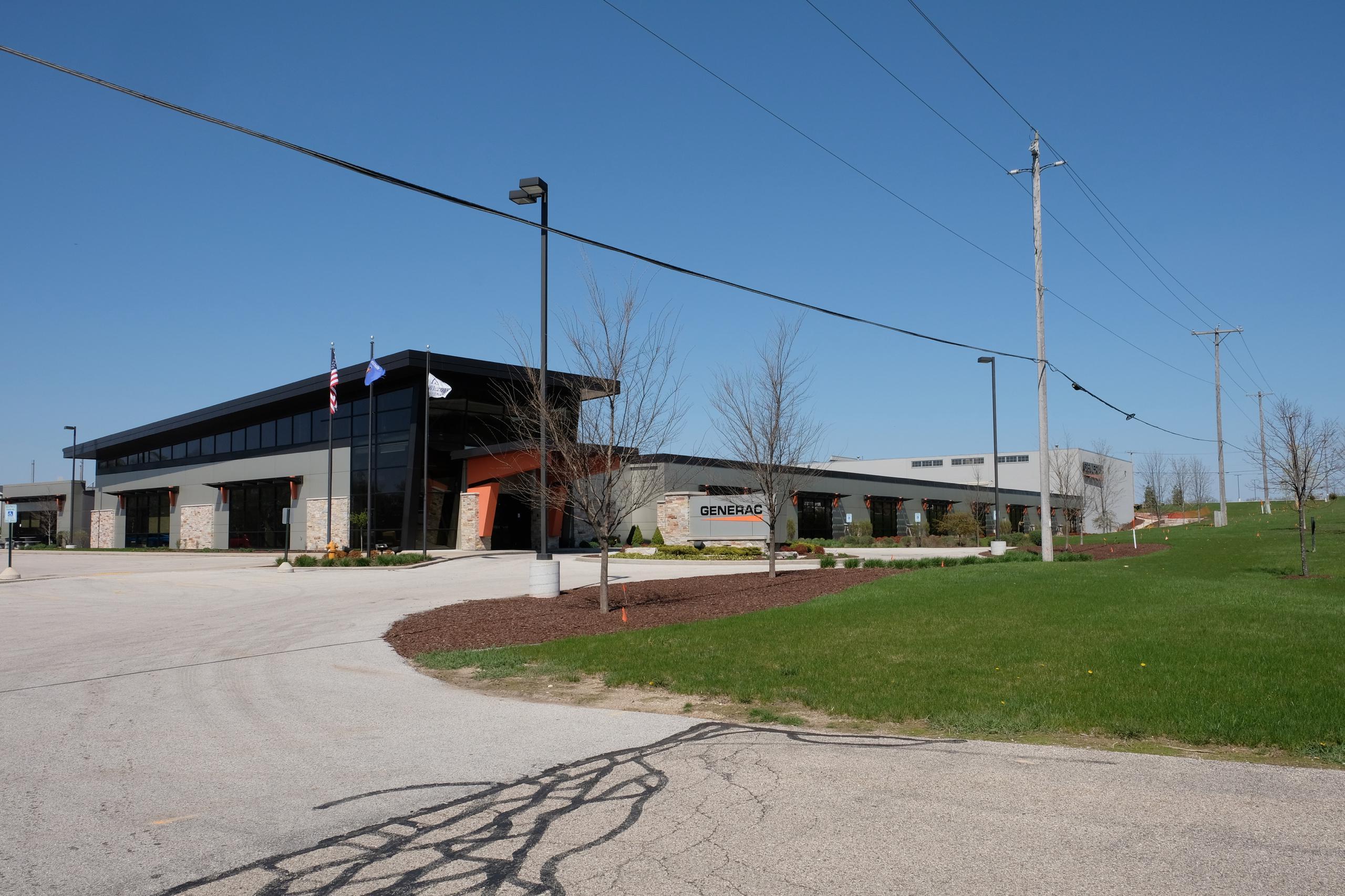 Generac Holdings' corporate headquarters in Waukesha, Wisconsin.