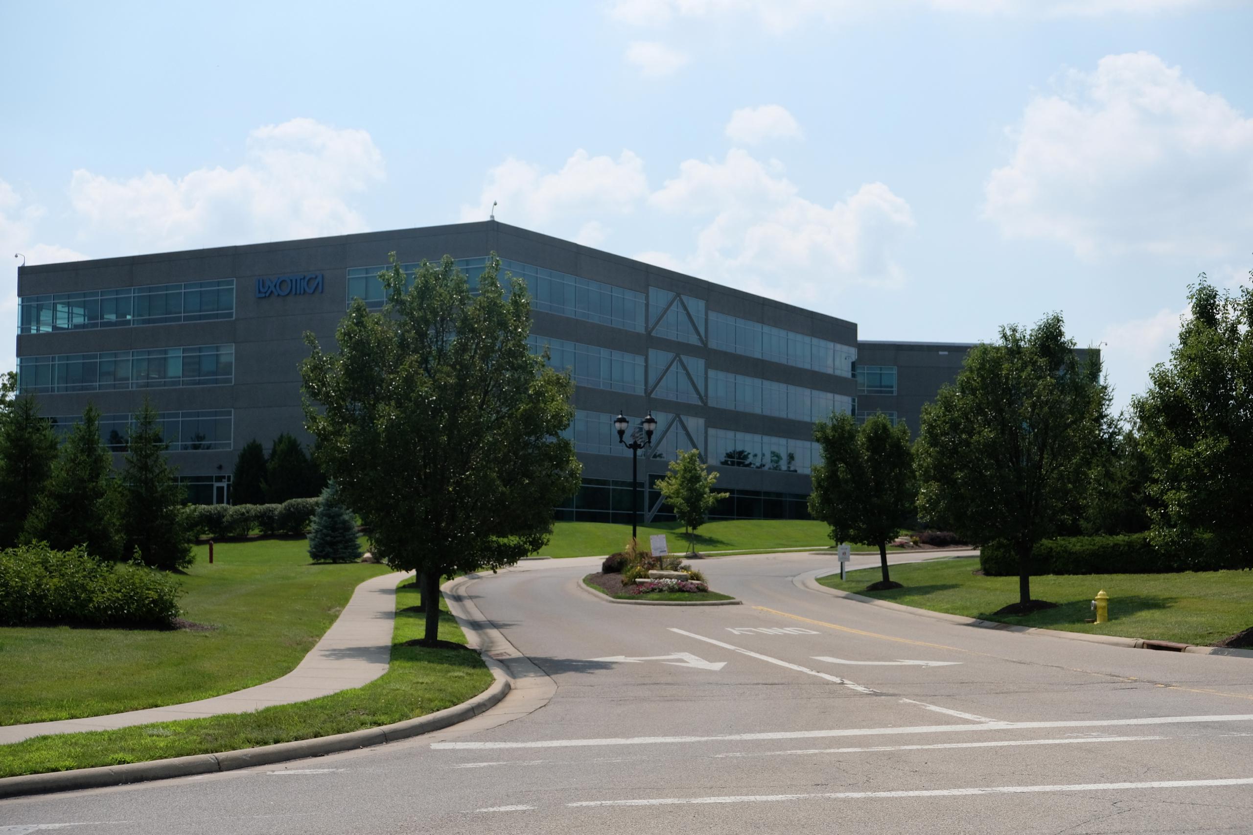 Luxottica's North American headquarters in Mason, Ohio.