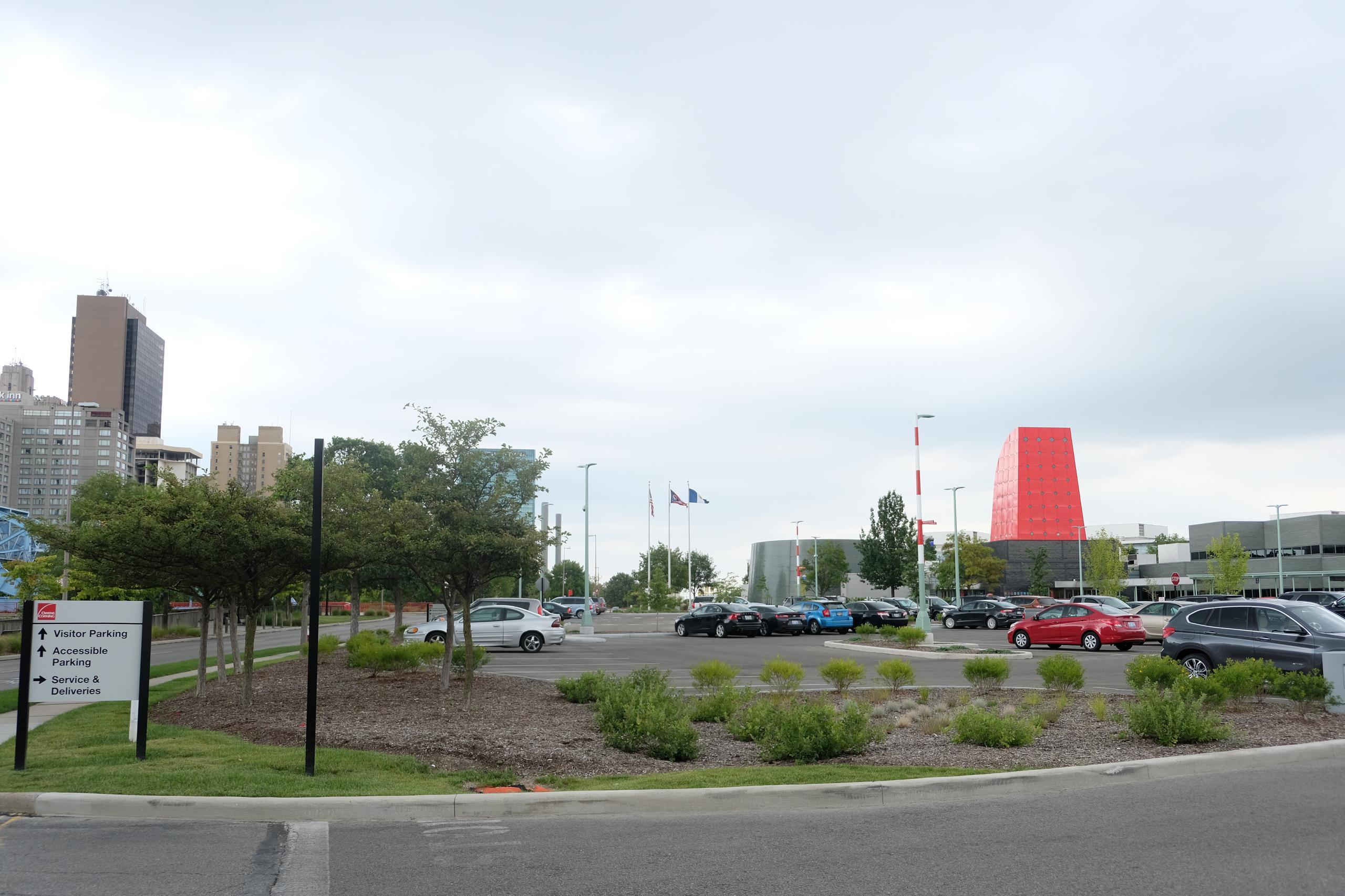 Owens Corning's corporate headquarters in Toledo, Ohio.