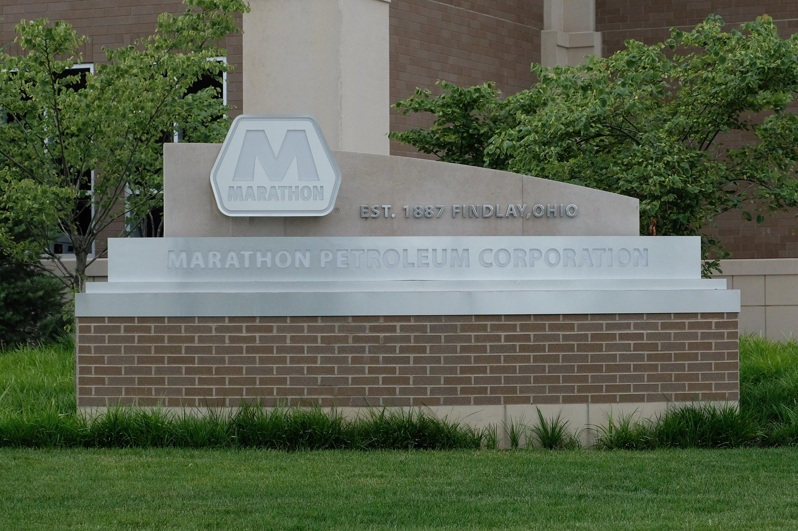 Marathon Petroleum's corporate headquarters in Findlay, Ohio.