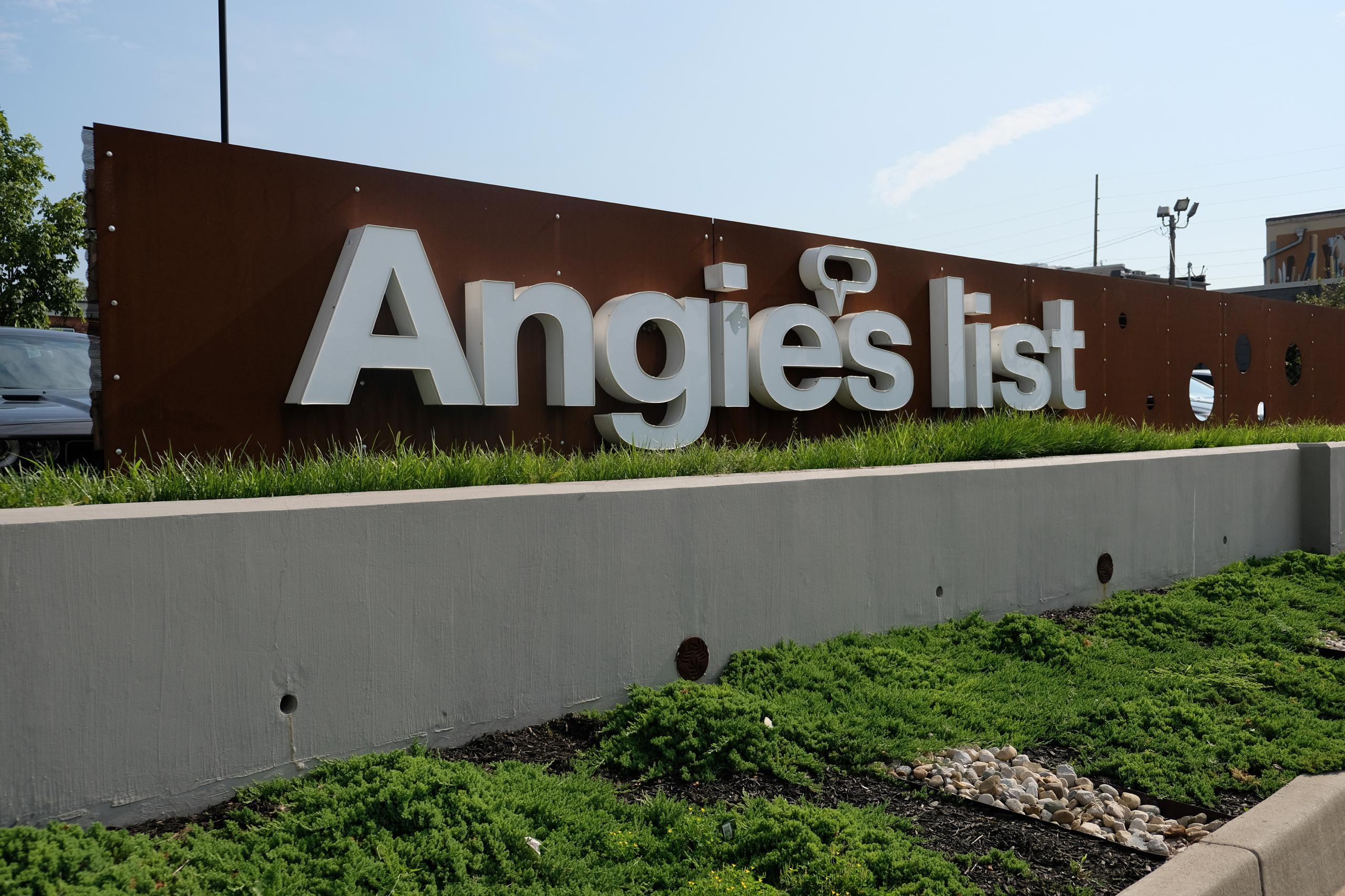 Angie's List's corporate headquarters in Indianapolis, Indiana.