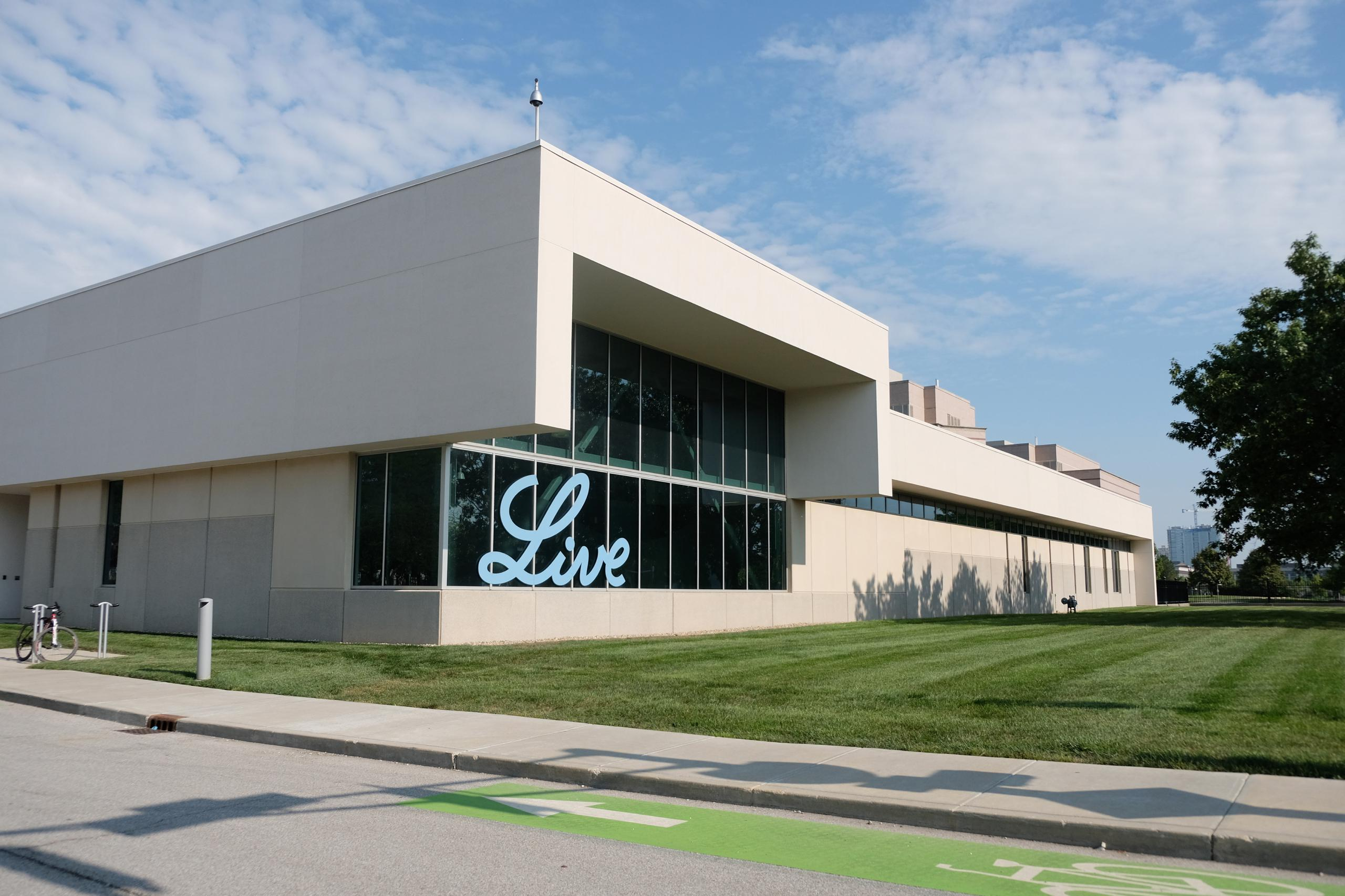 Building on Eli Lilly's campus in Indianapolis, Indiana.
