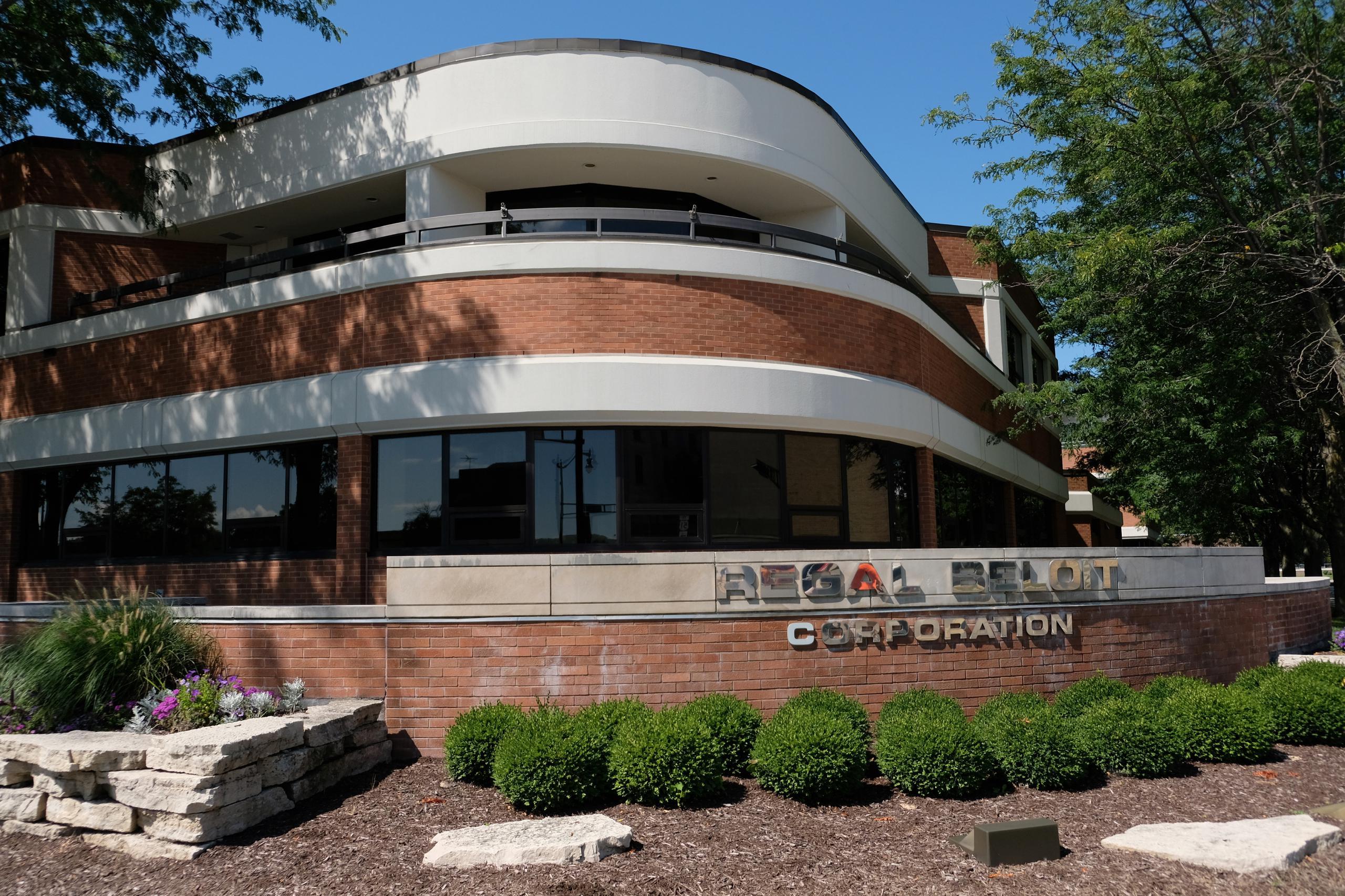 Regal Beloit's corporate headquarters in Beloit, Wisconsin.