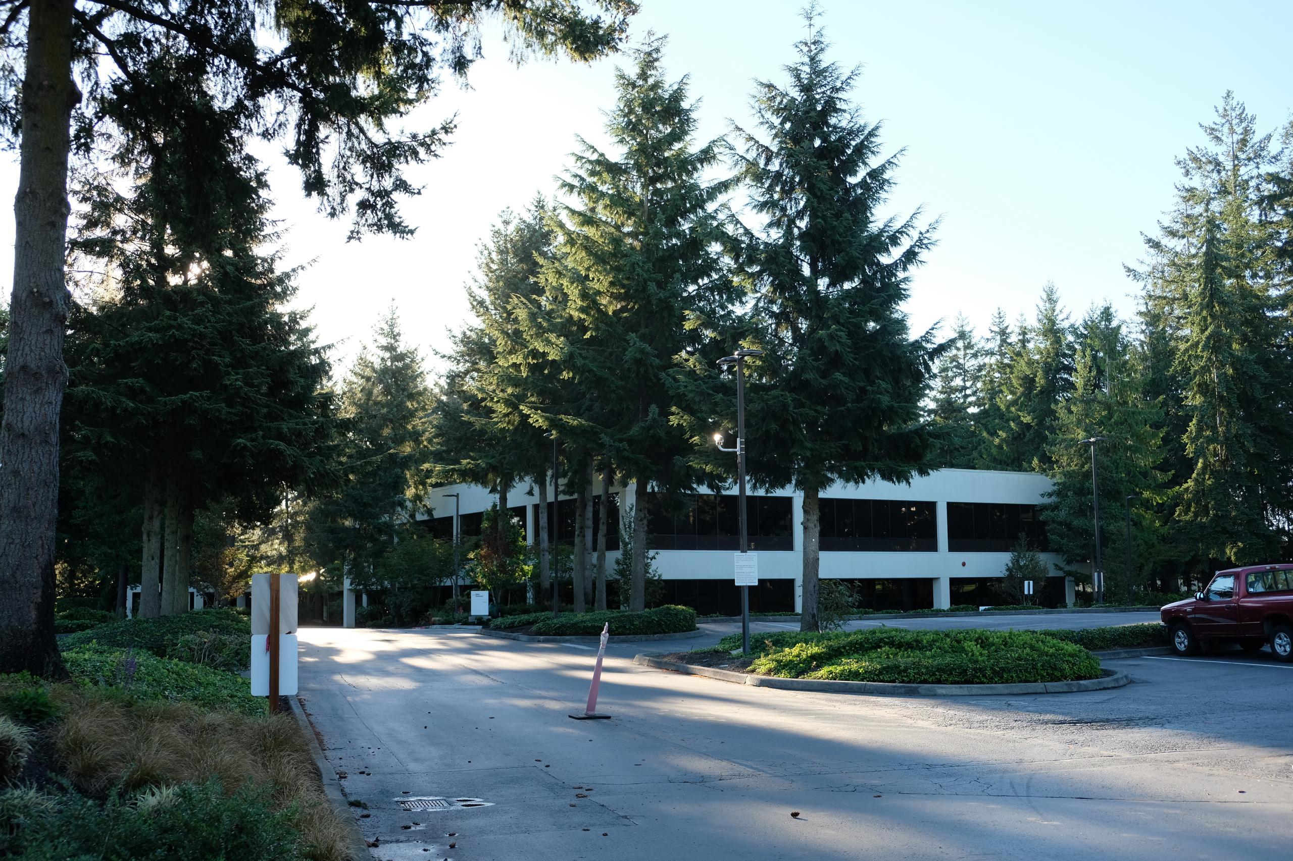 Alaska Airlines' corporate headquarters in Seattle, Washington.