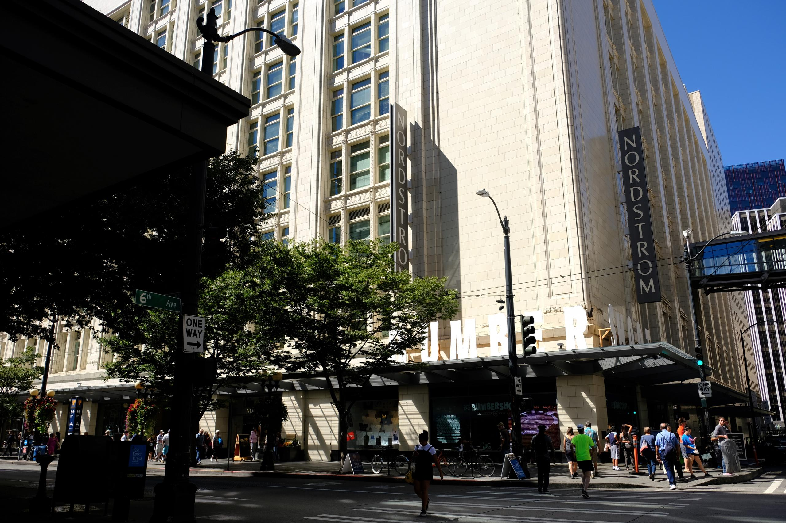 Nordstrom's corporate headquarters in downtown Seattle, Washington.