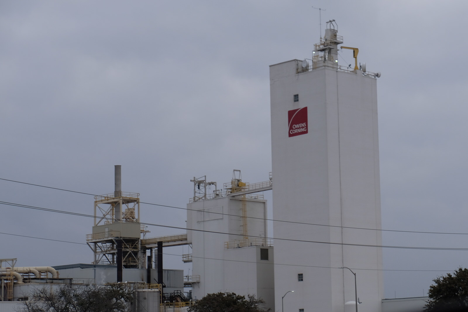 Owens Corning plant in Waxahachie, Texas.