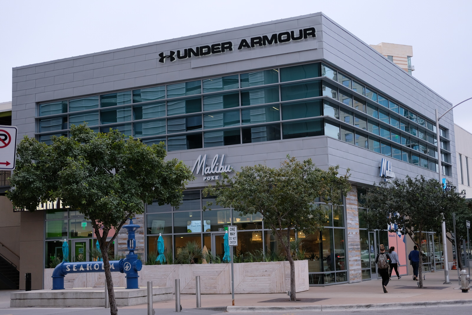 Under Armour office in downtown Austin, Texas.