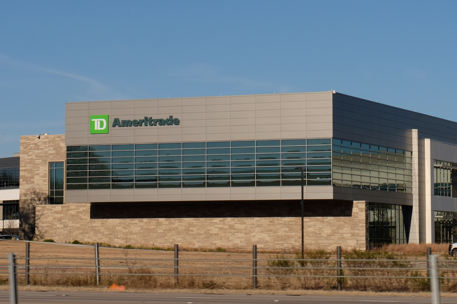 TD Ameritrade campus in Denton, Texas.