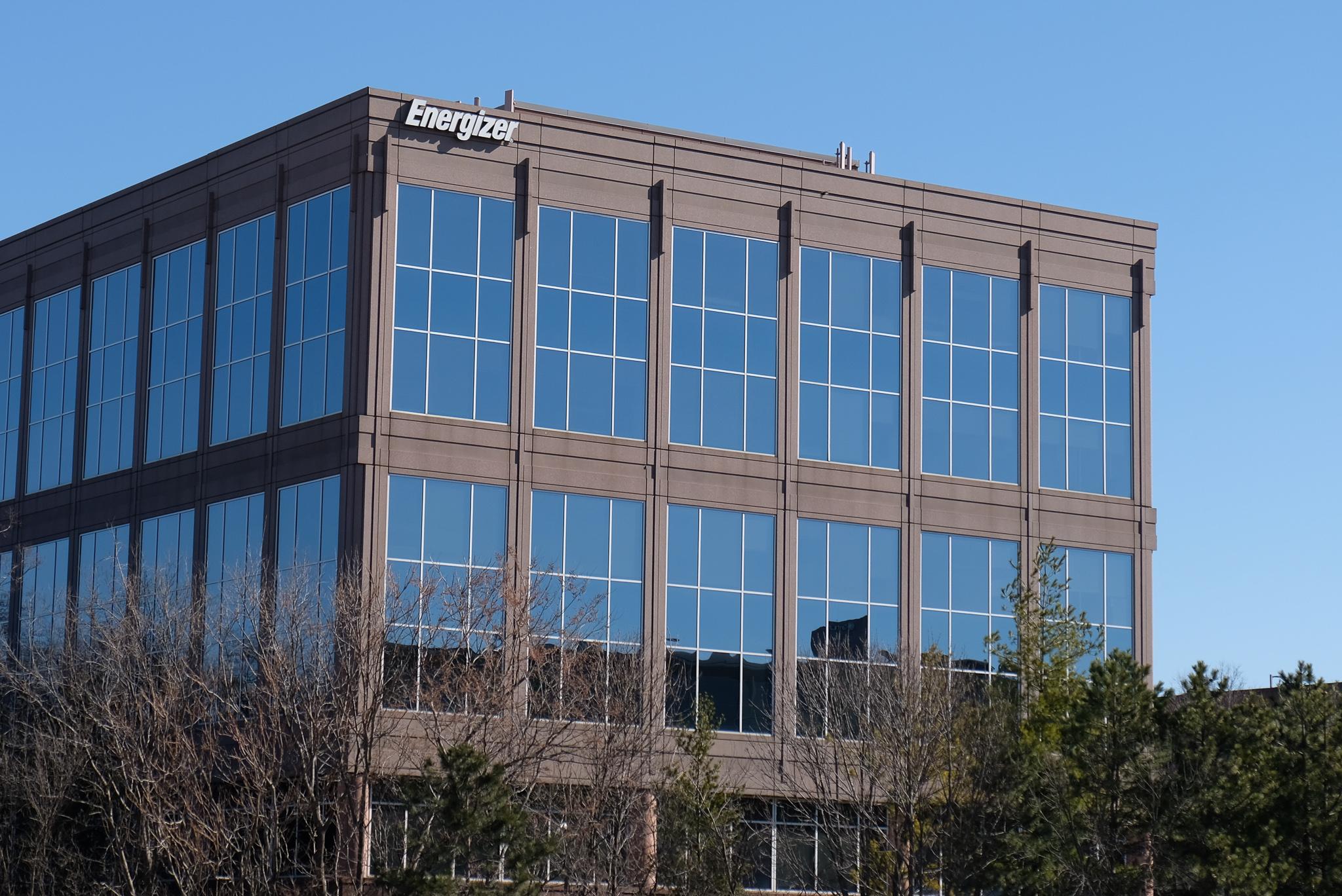 Energizer's corporate headquarters in St. Louis, Missouri.
