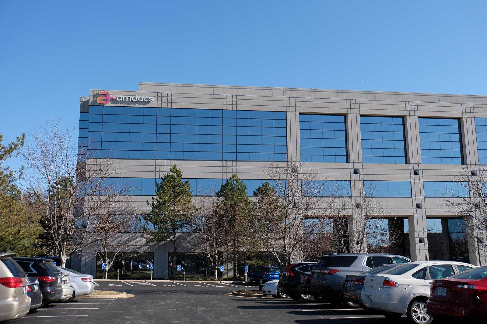 Amdocs office in St. Louis, Missouri.