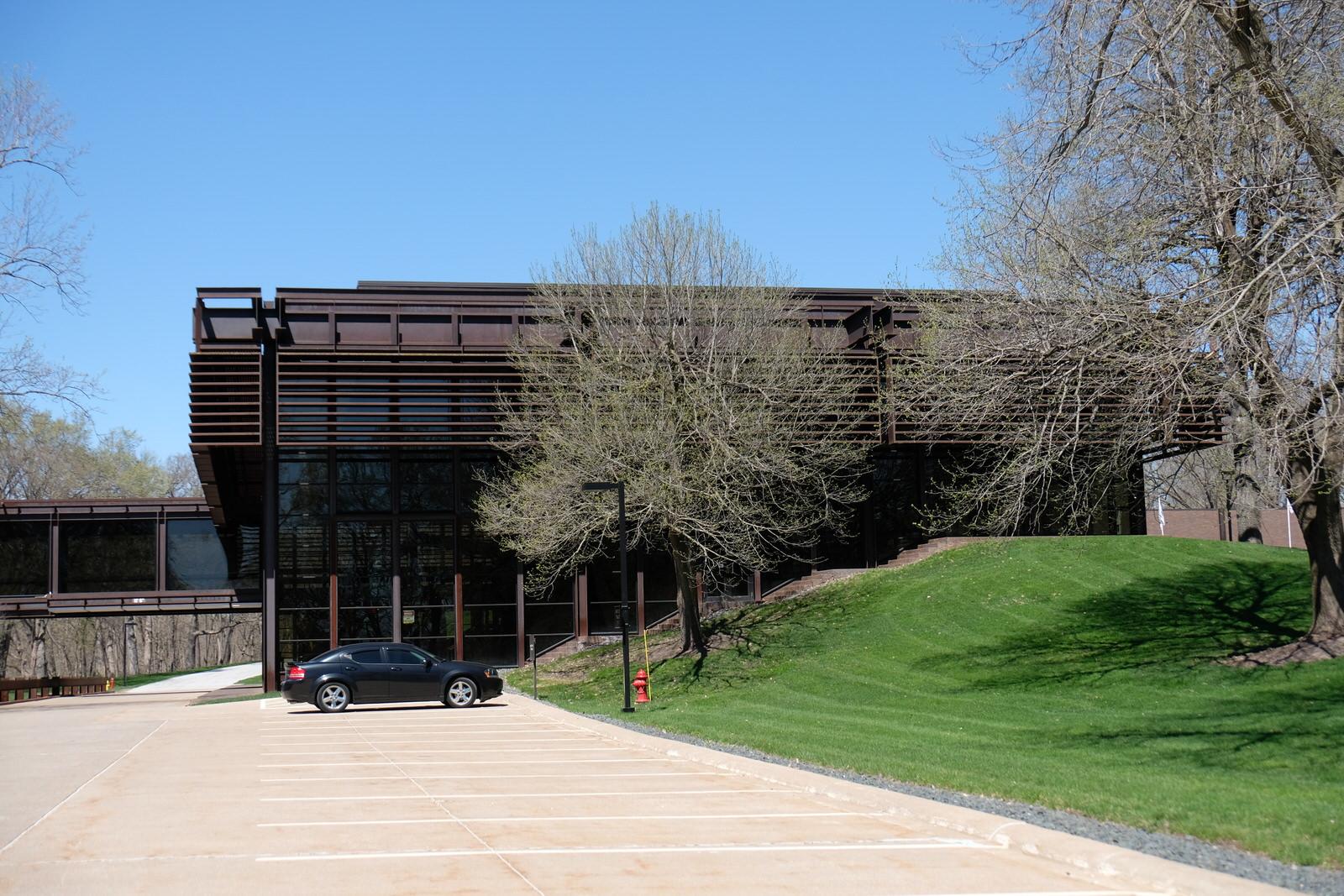 Deere's corporate headquarters in Moline, Illinois.