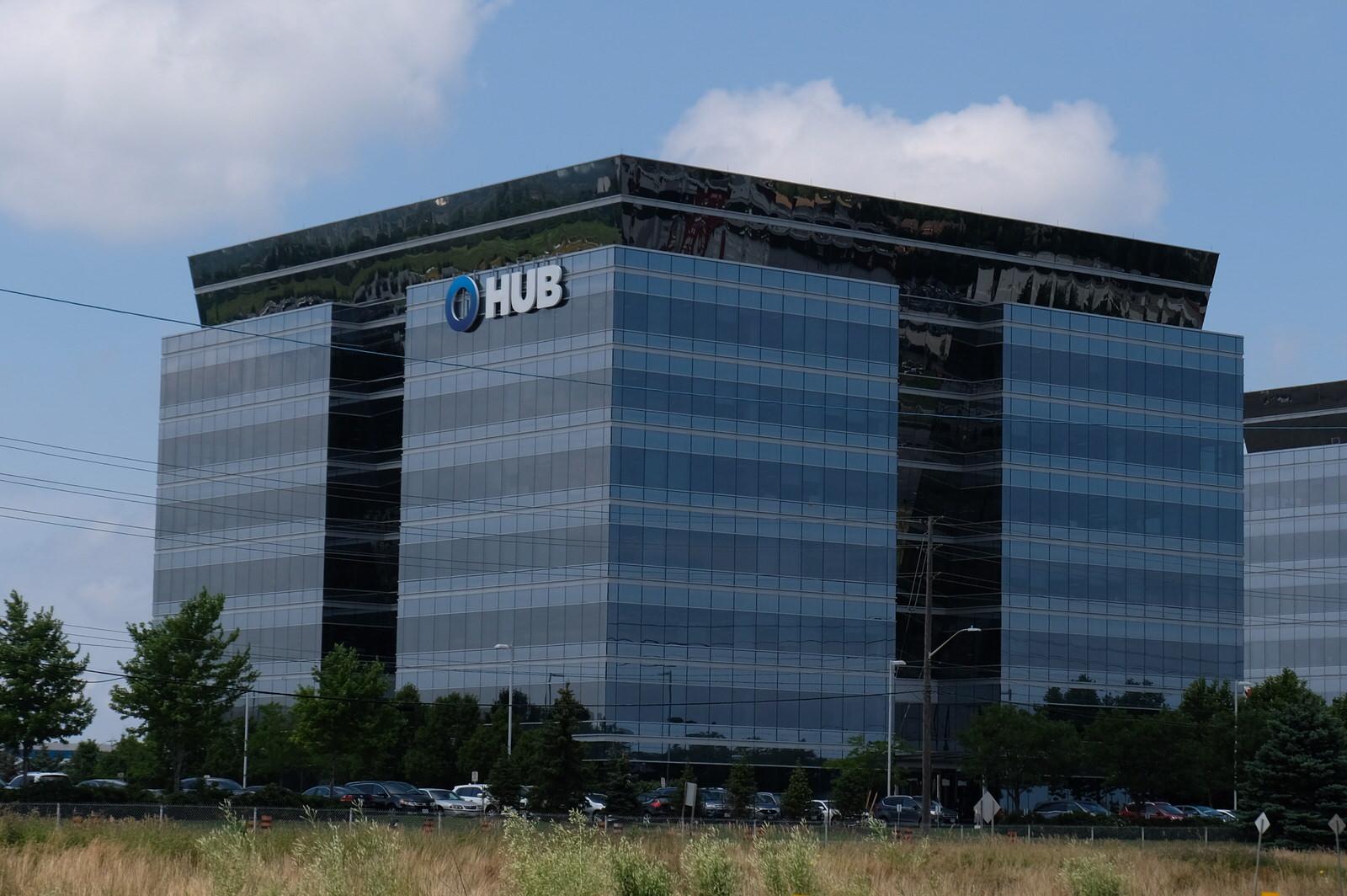 Hub International office in Oakville, Ontario.