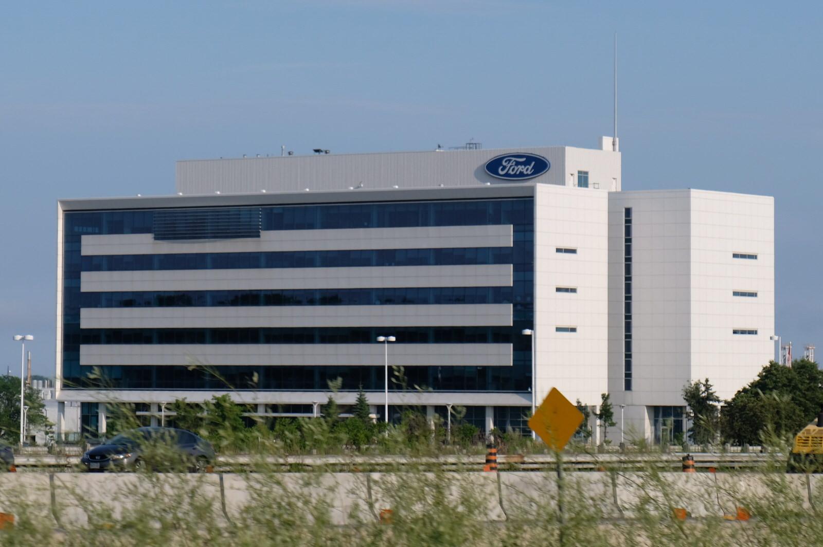 Ford Motor office in Oakville, Ontario.