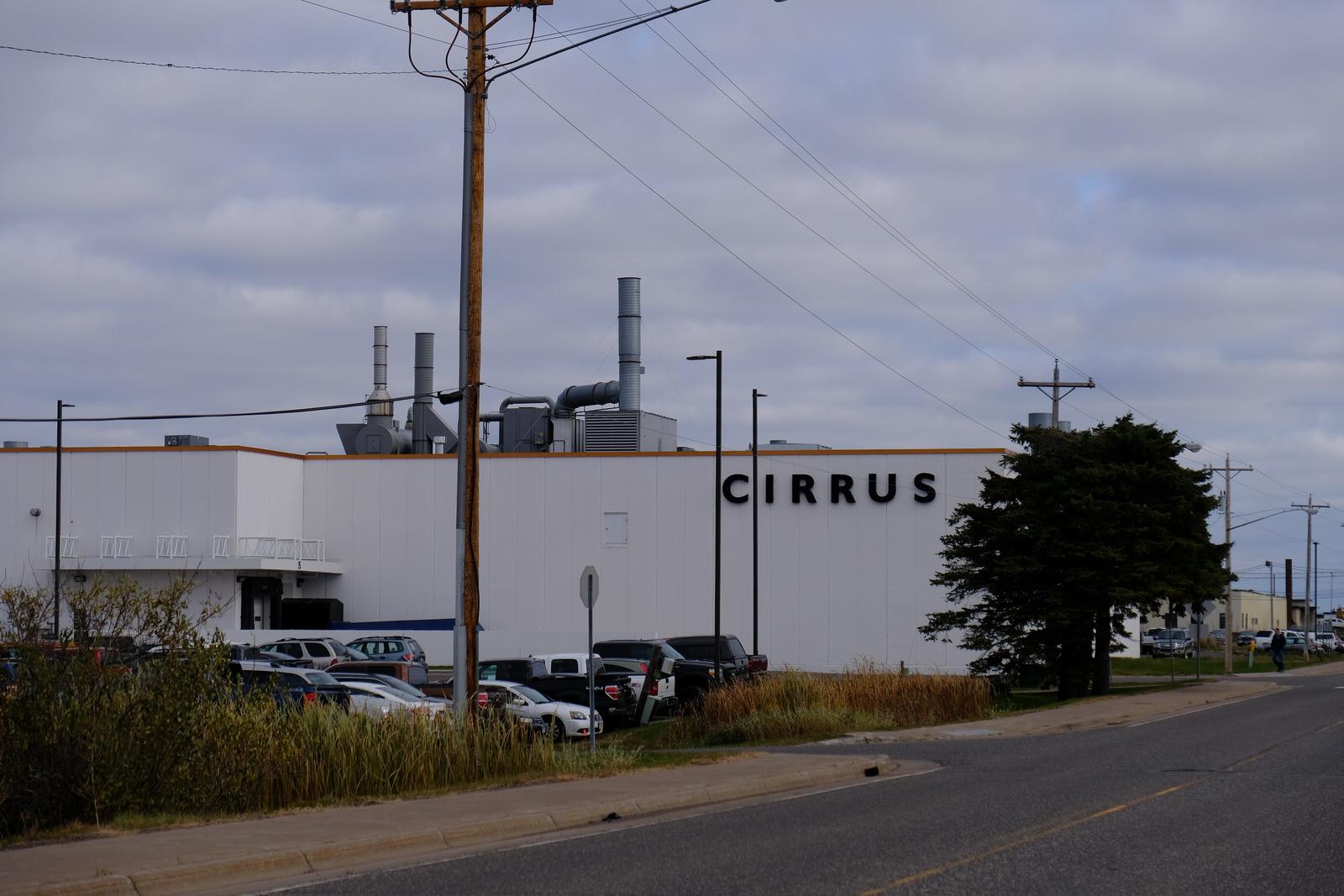 Cirrus' corporate headquarters in Duluth, Minnesota.