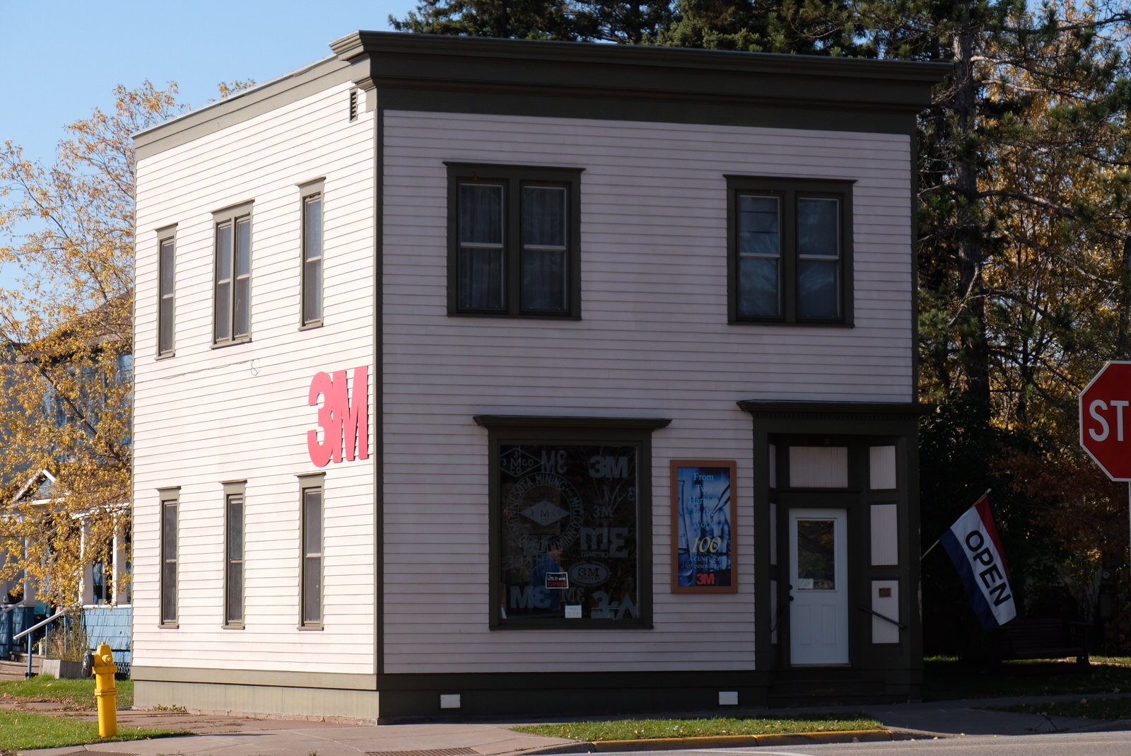 3M's founding location and company museum in Two Harbors, Minnesota.